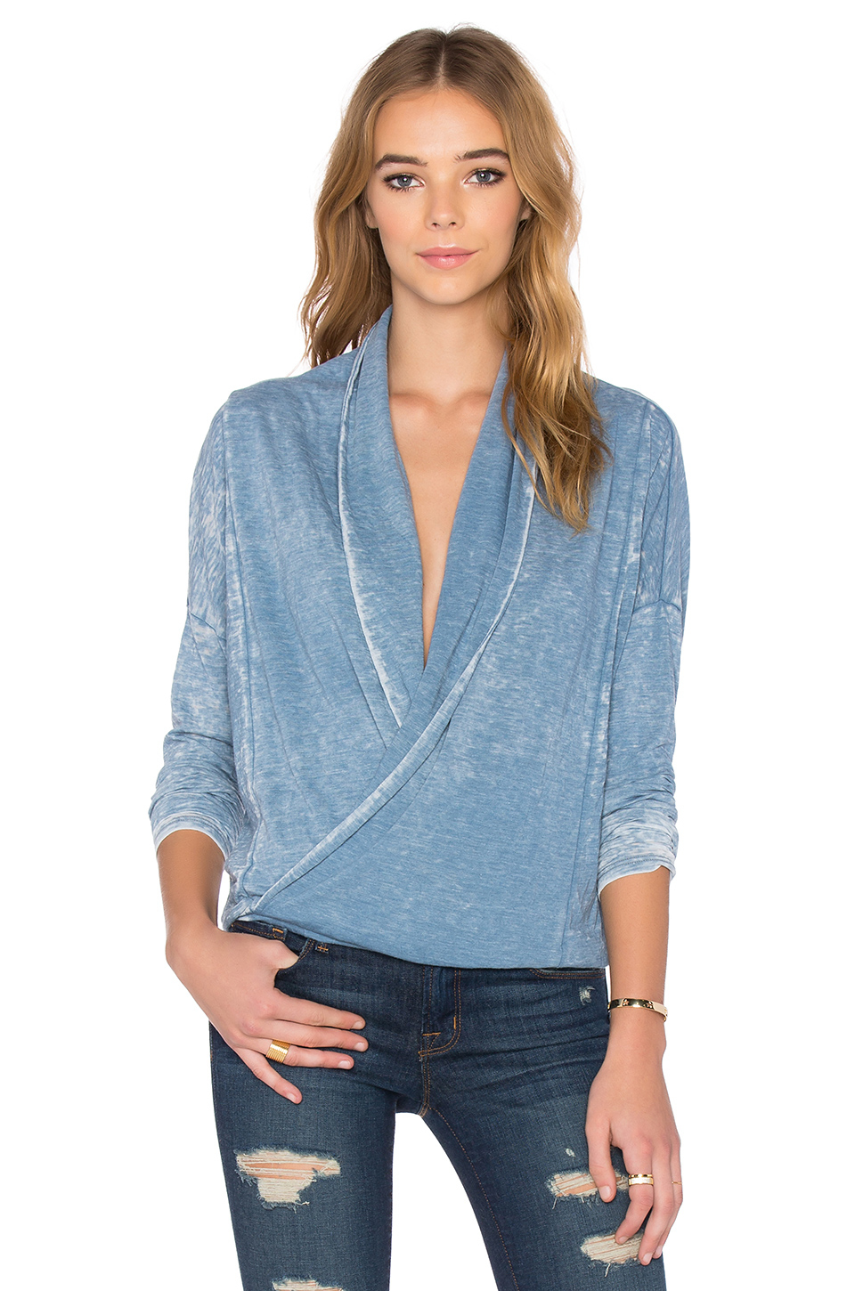 Lyst Nsf Iris Top In Blue