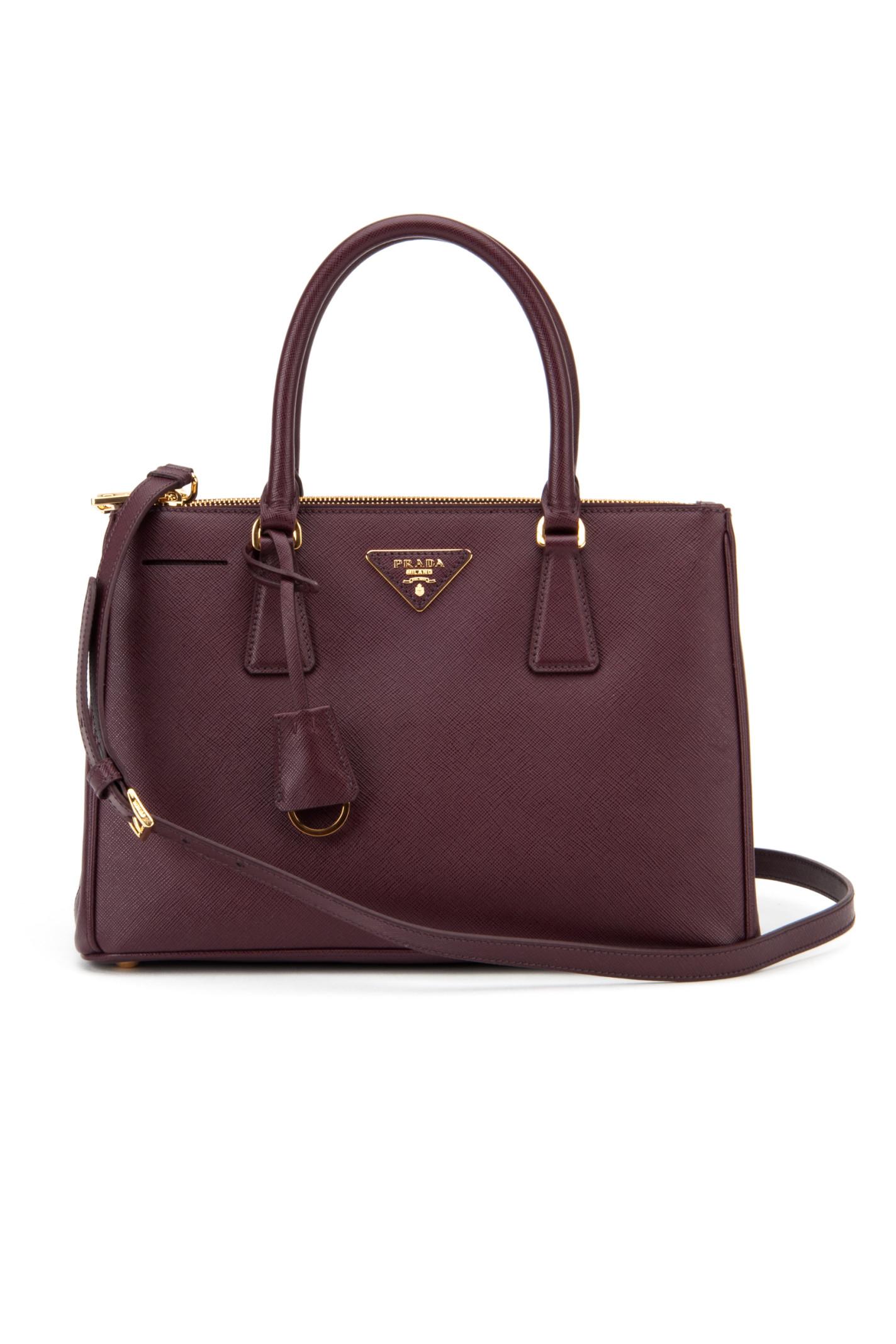 Prada Borsa Saffiano Lux in Purple (GRANATO) | Lyst