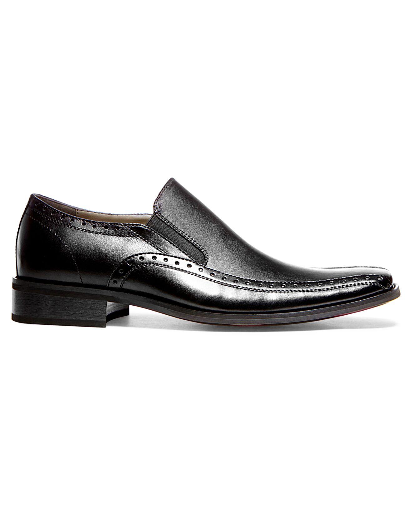 62b45f8b20b Steve Madden Black Kaptive Slip-on Dress Shoes for men