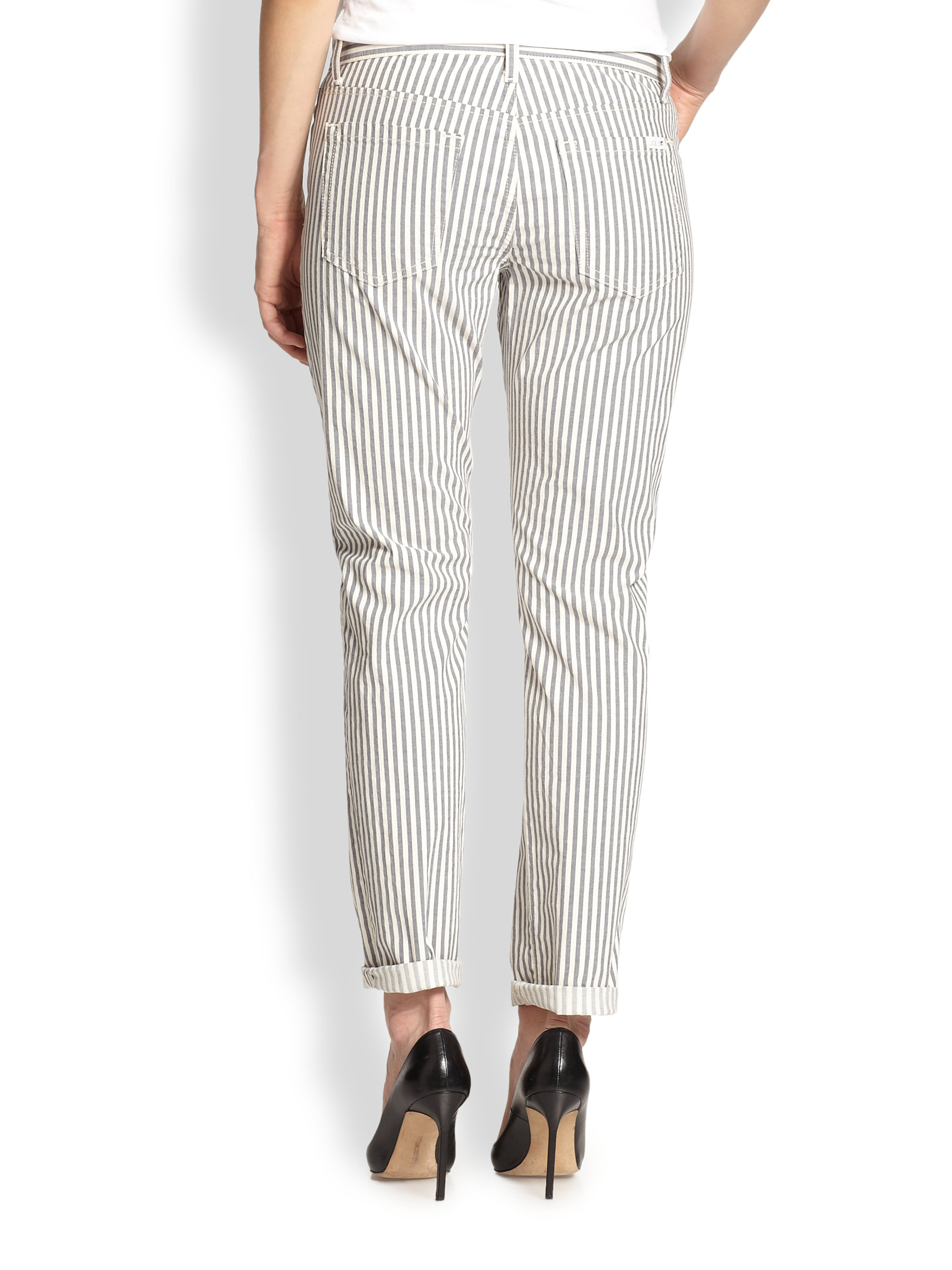 Lyst Joe S Jeans Blueberry Striped Slim Relaxed Fit