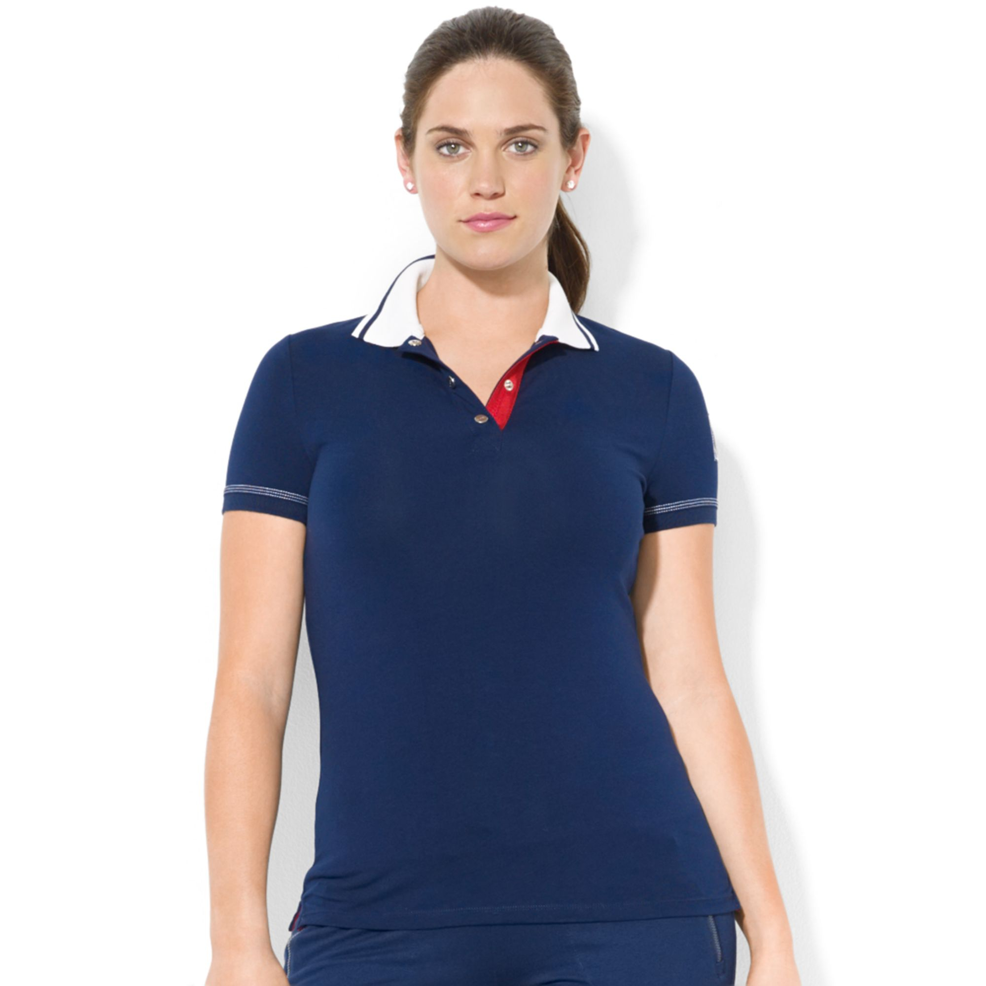 Lauren By Ralph Lauren Plus Size Shortsleeve