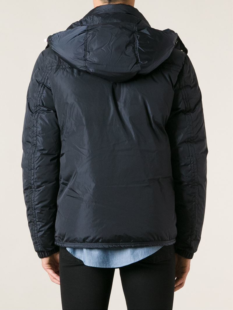 Moncler 'brad' Padded Jacket in Blue for Men