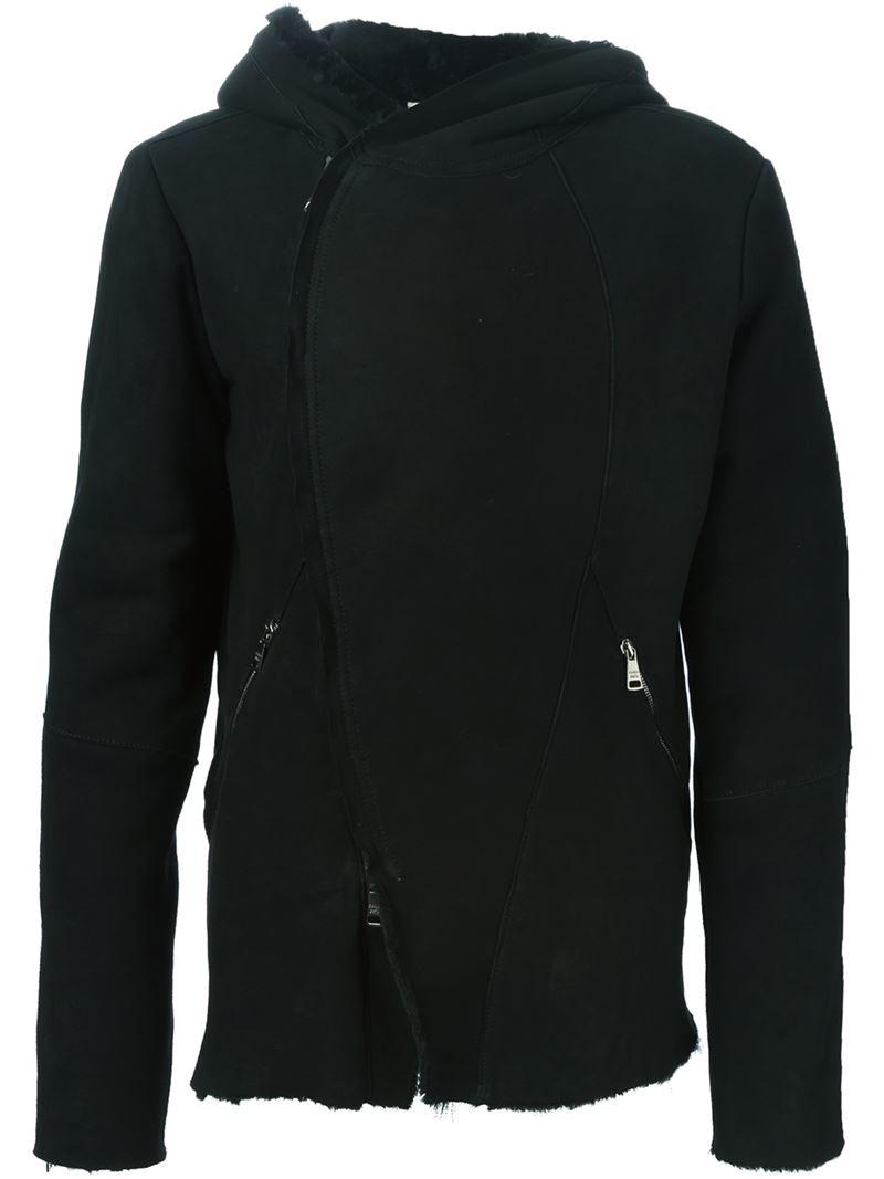 Giorgio Brato Shearling Jacket in Black for Men