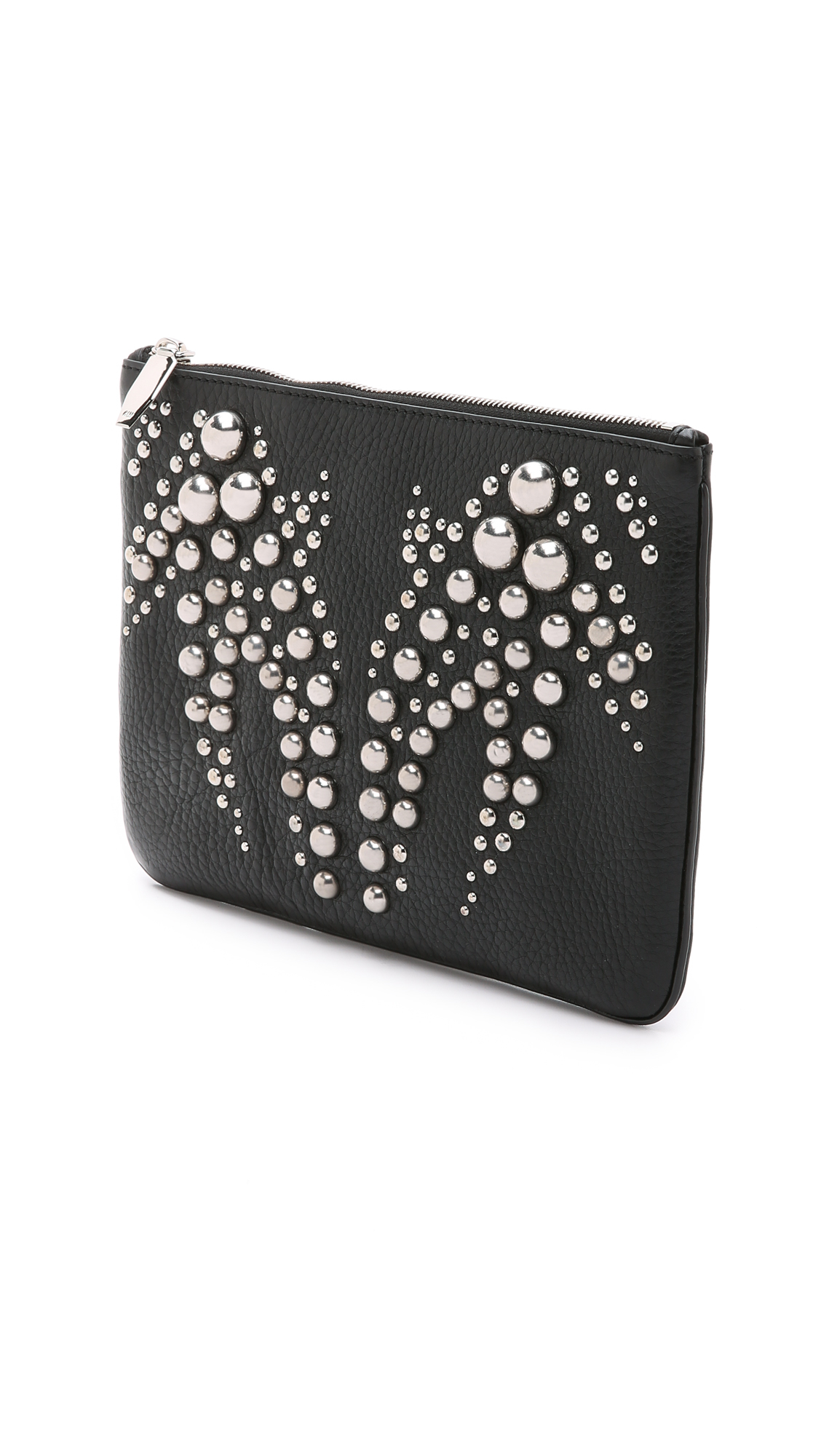 studded clutch bag - Black Alexander Wang 6X00iR