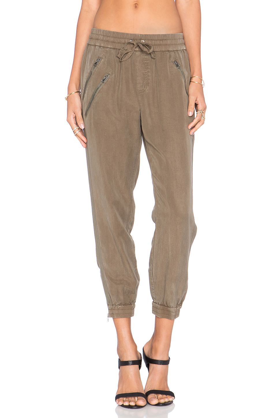 Lyst Pam Amp Gela Track Pant In Green