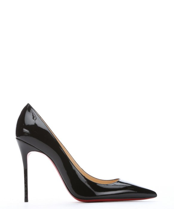 christian louboutin decollete 554 black