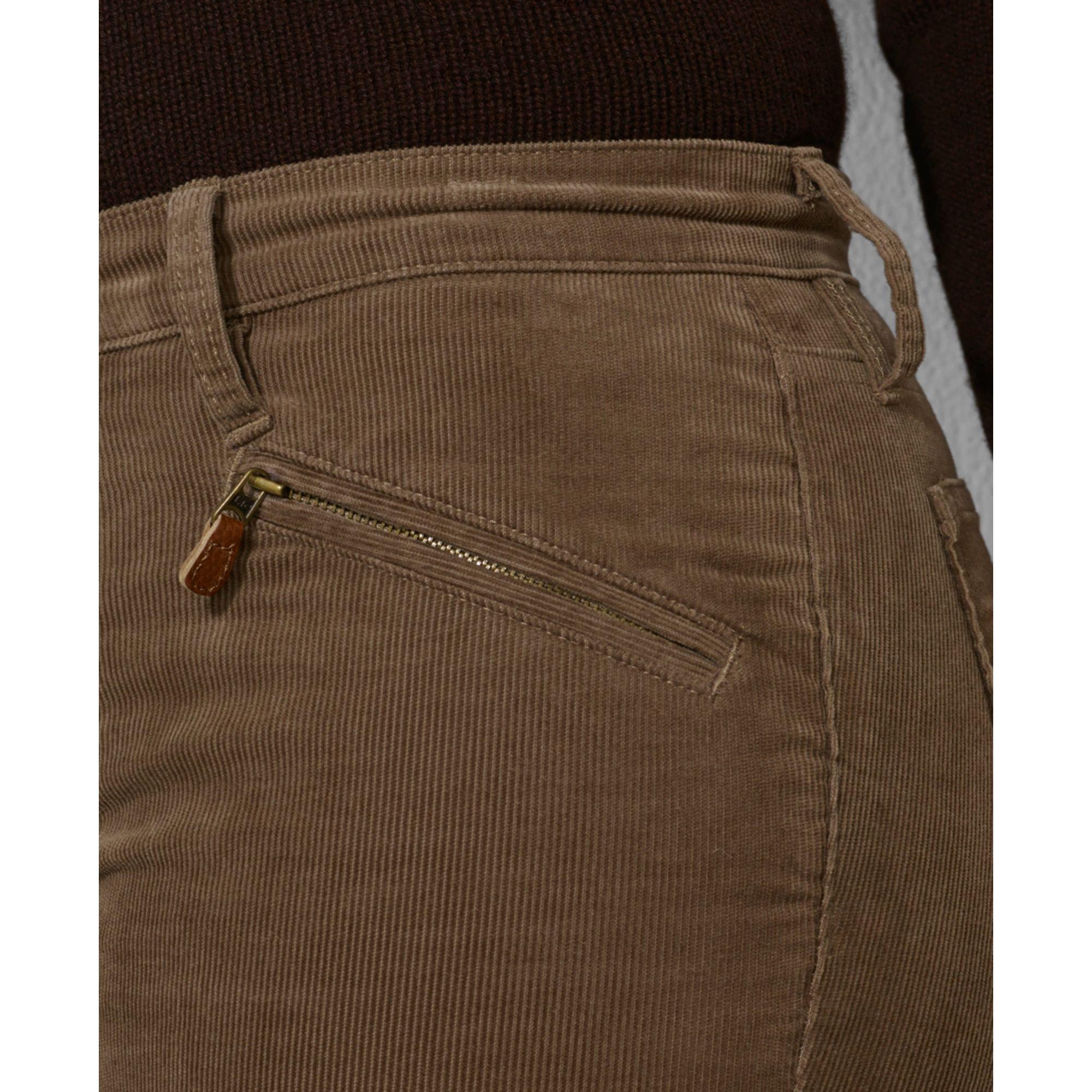 Lauren by ralph lauren Plus Size Straight leg Corduroy Pants in ...