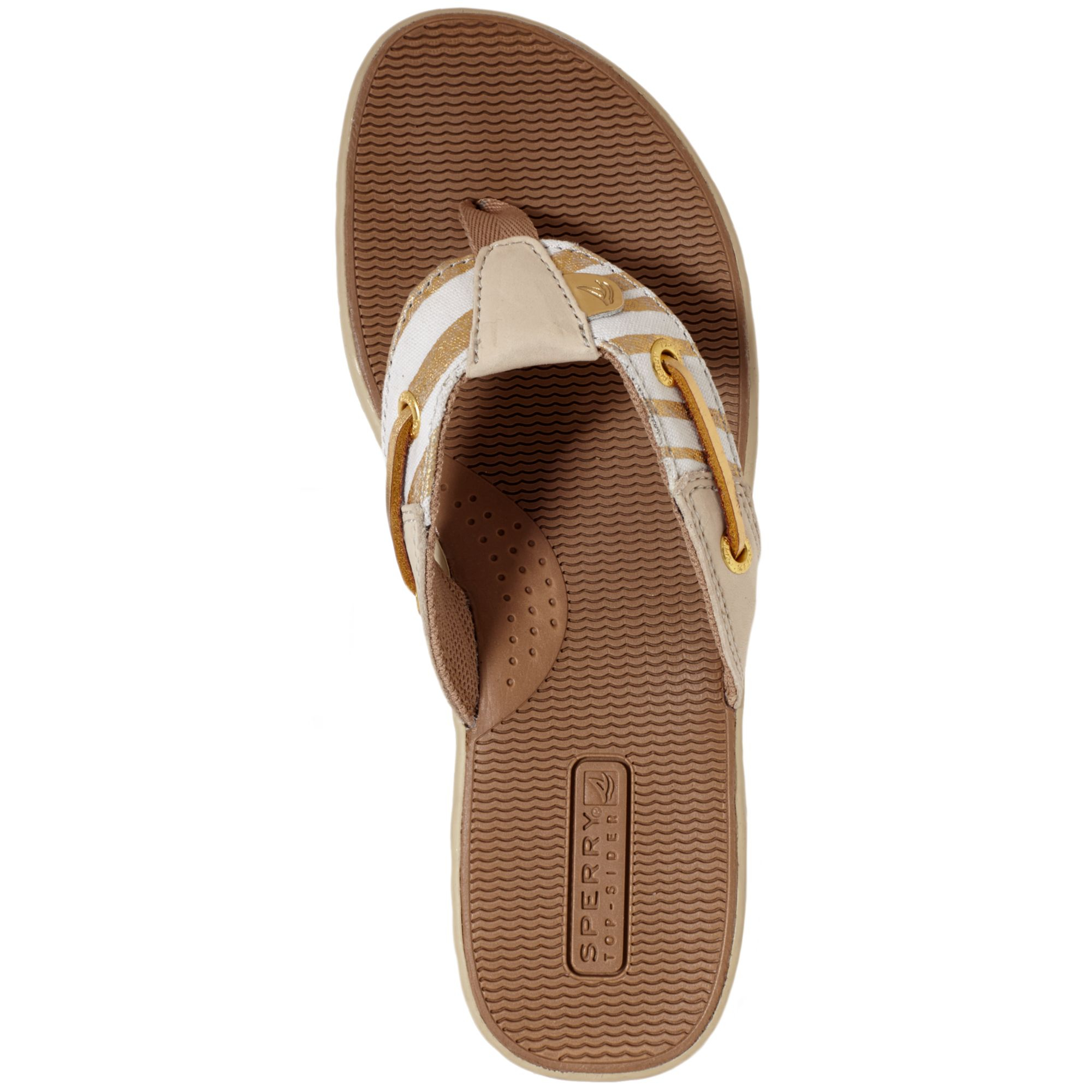 Lyst Sperry Top Sider Womens Seafish Thong Sandals In