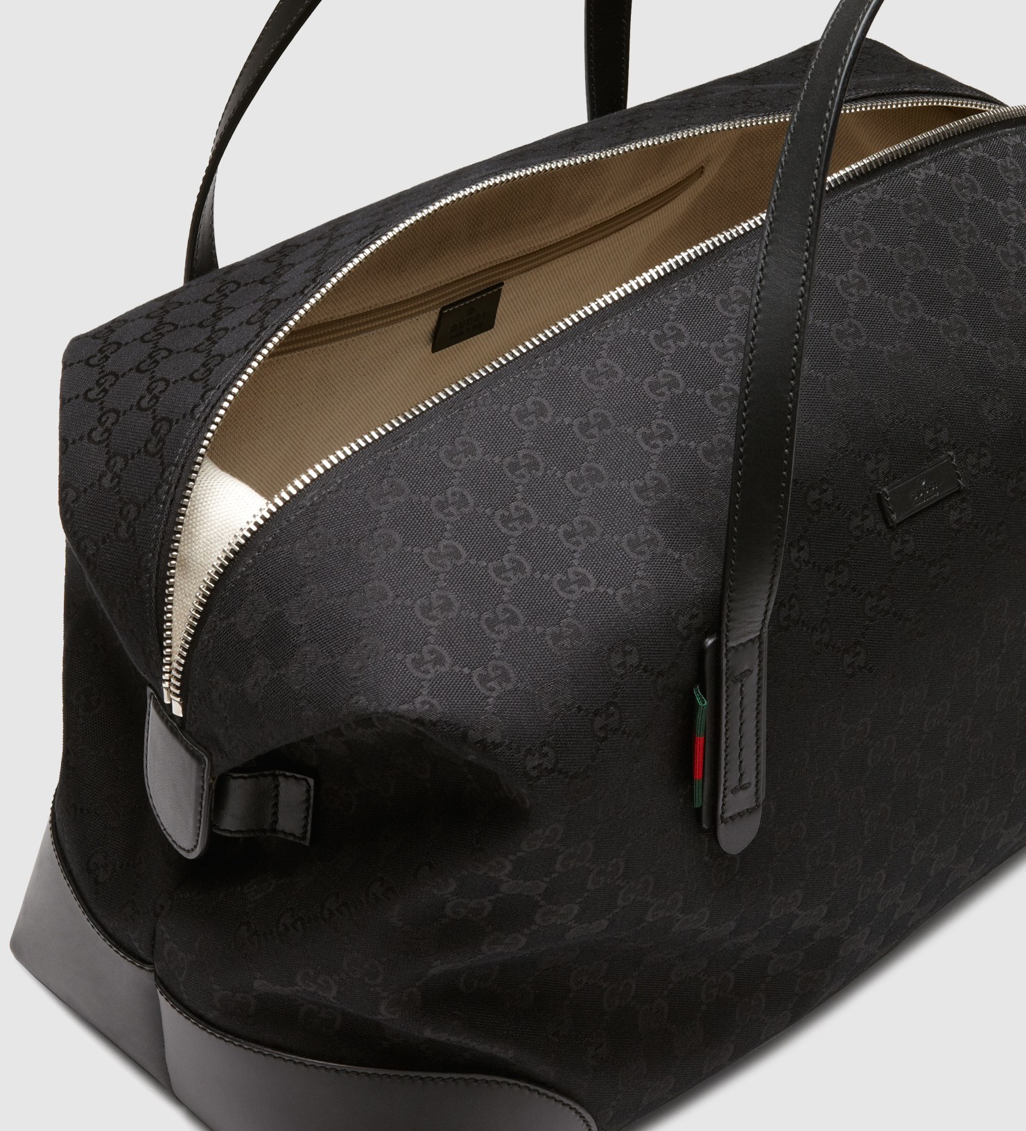 c5a654f1463a Lyst - Gucci Original Gg Canvas Carry-on Duffle Bag in Black for Men