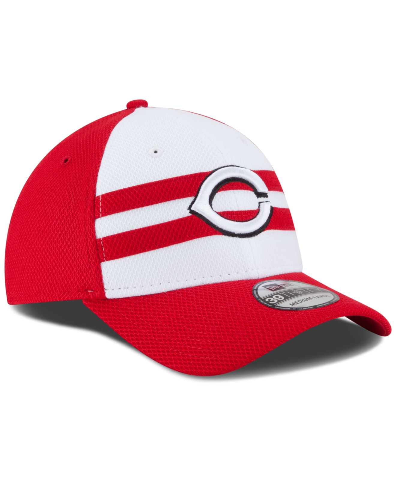 new concept 2be84 8383f KTZ Cincinnati Reds 2015 All Star Game 39Thirty Cap in Red for Men ...