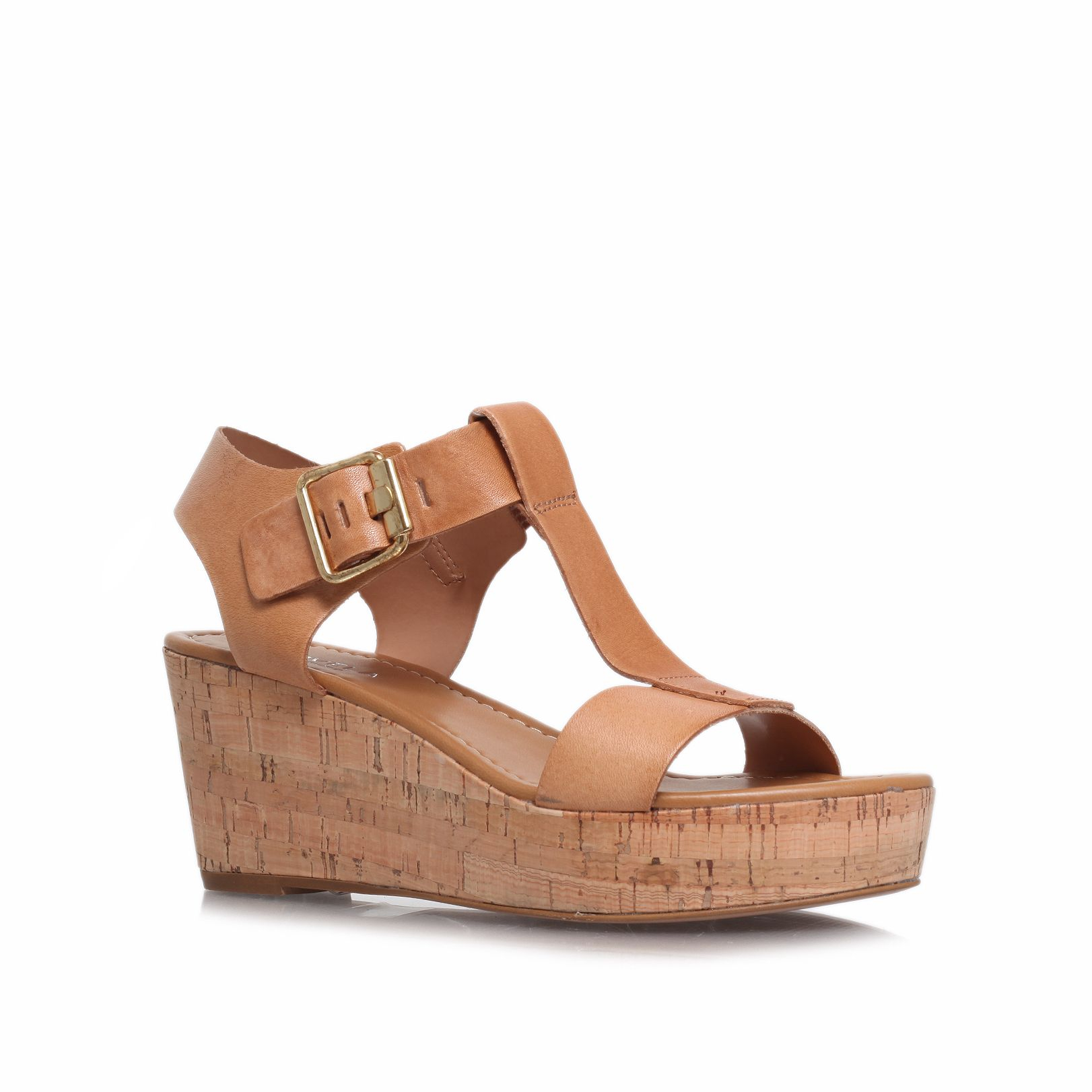 Carvela Sandals Gold Katrina Wedge Heel J329V5Pn Sale Store