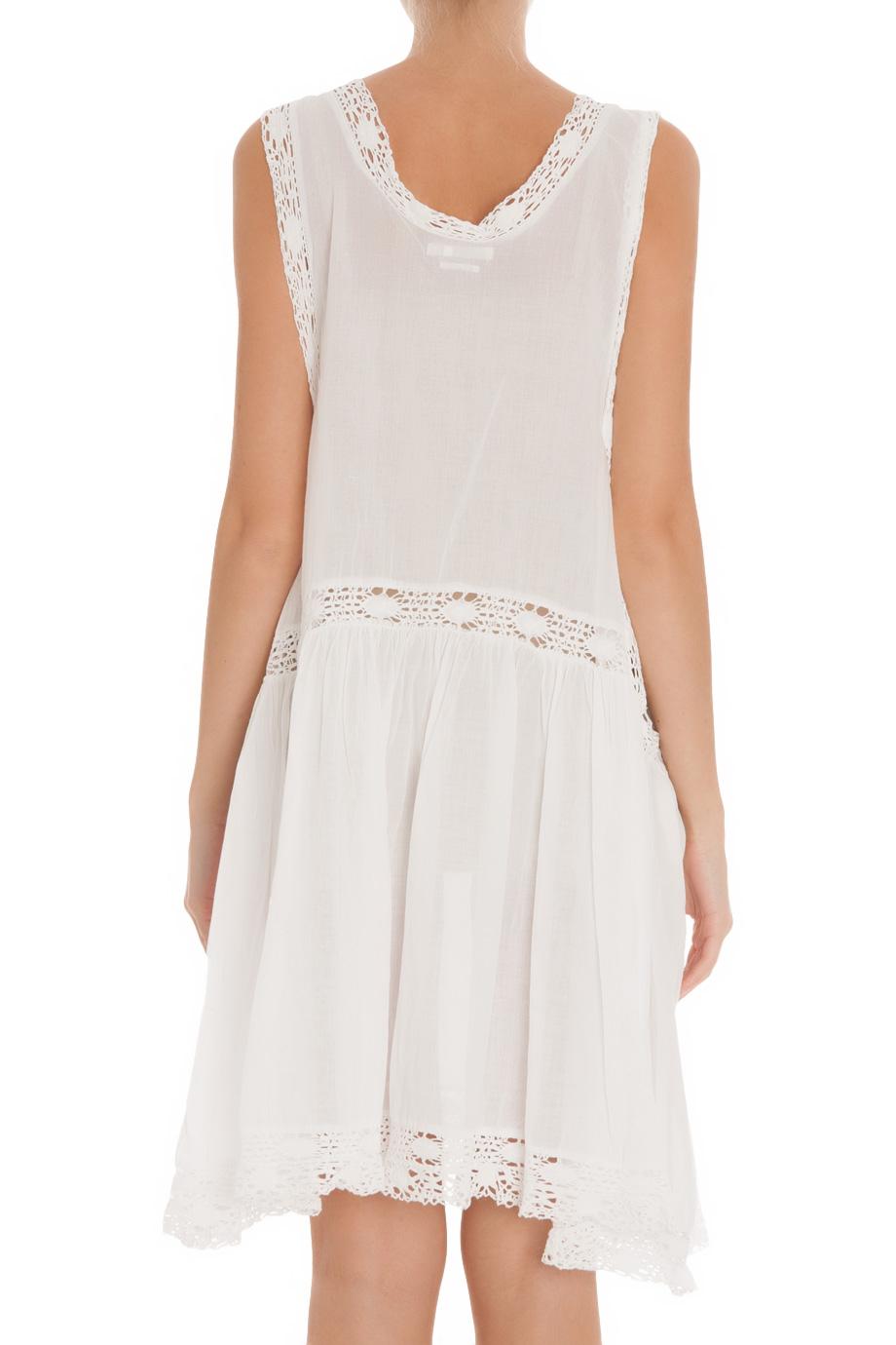 Lyst toile isabel marant dixie cotton voile tie dress for Isabel marant shirt dress