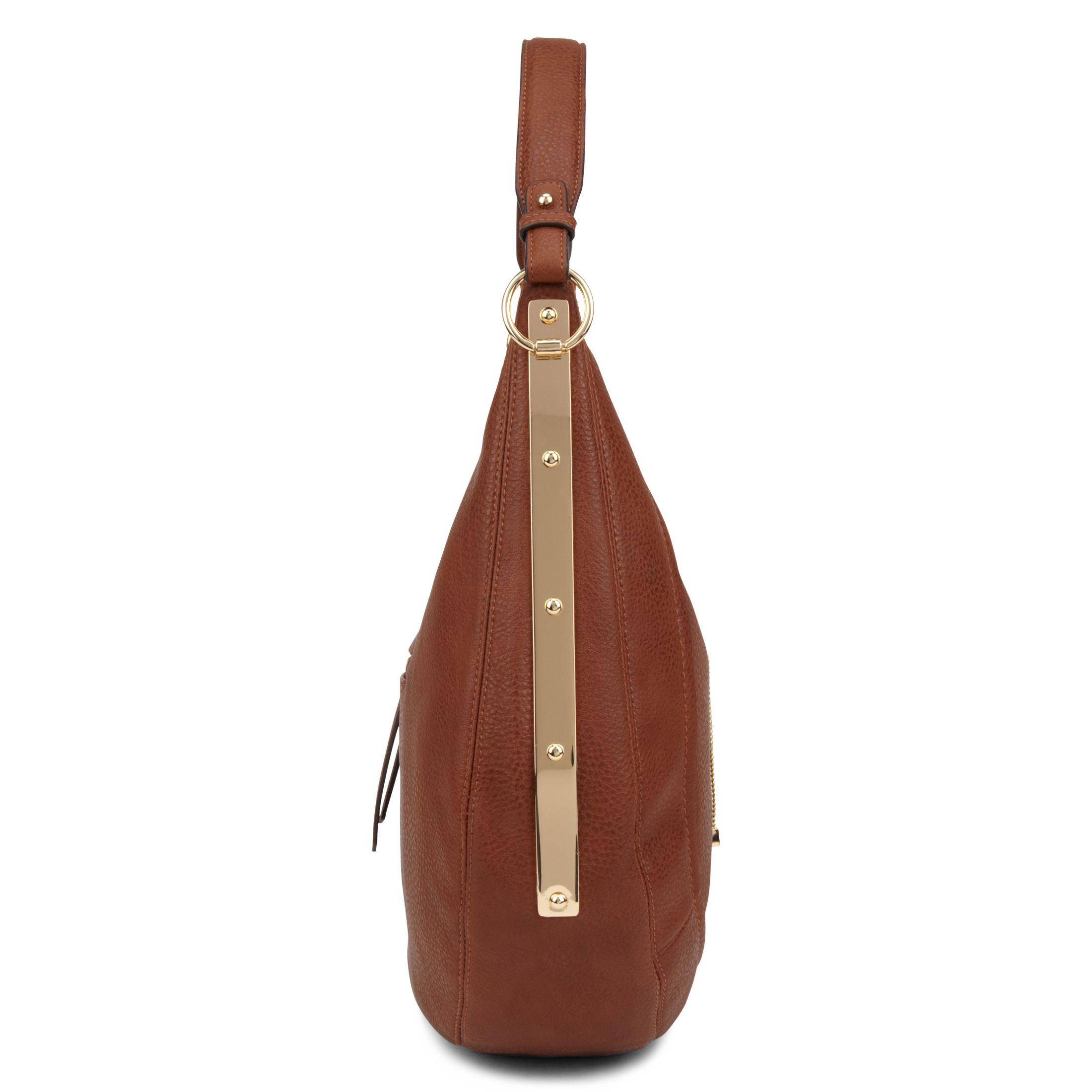 Aldo Pescate Hobo Handbag in Brown | Lyst