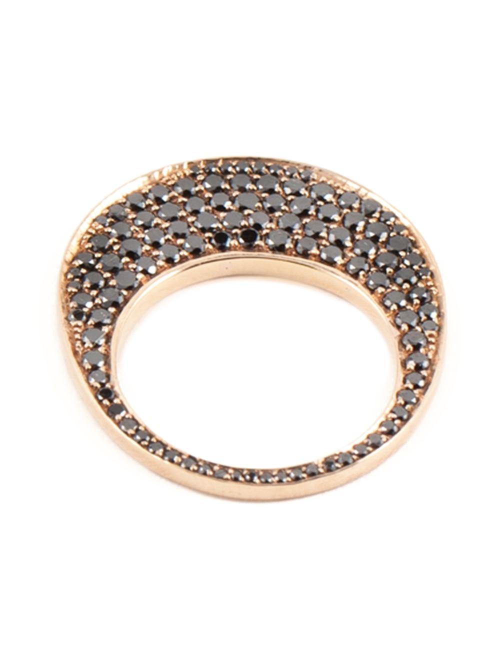 Hoorsenbuhs Chip Diamond Ring In Pink Metallic Lyst