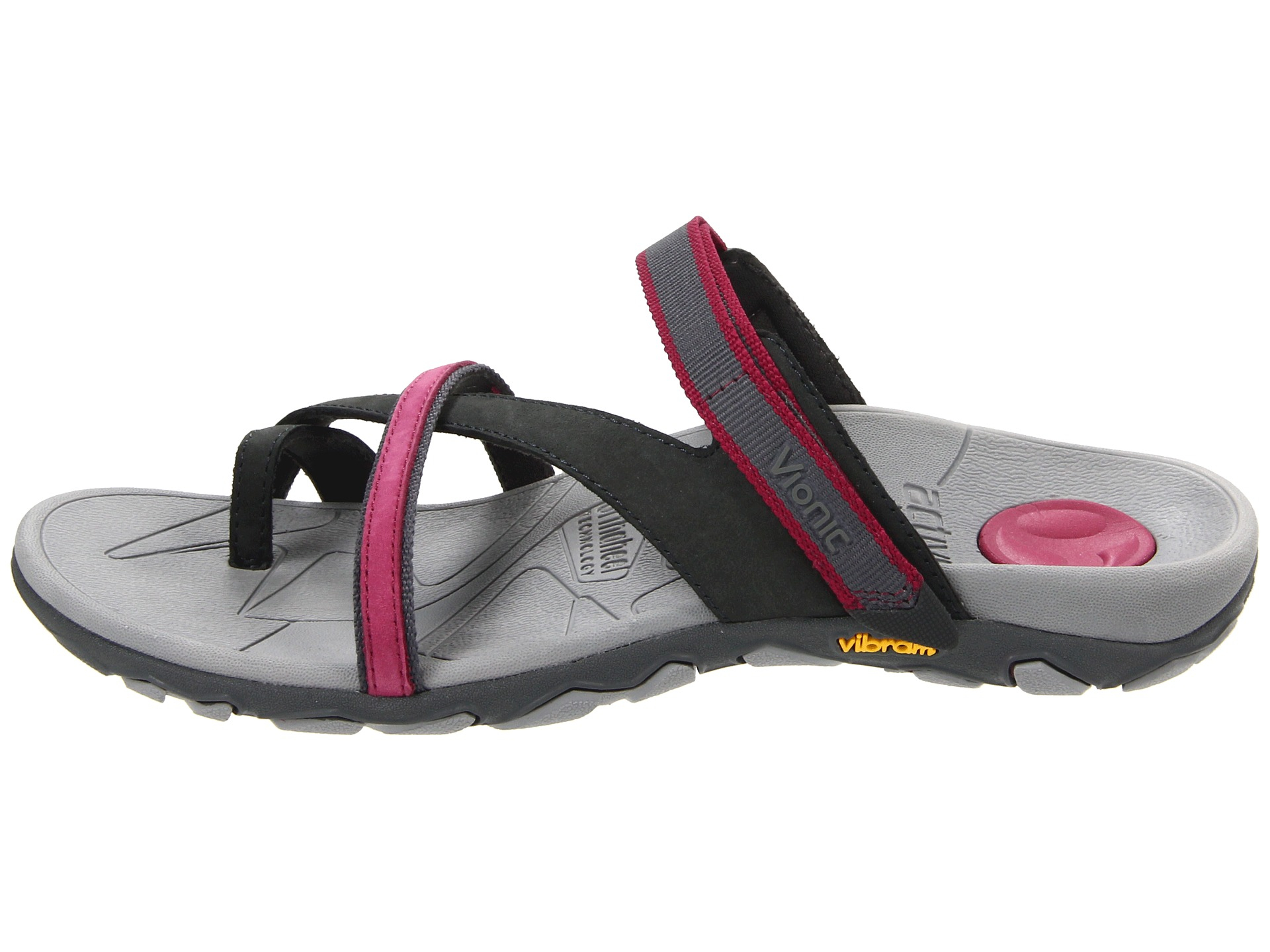 090ef96762f8 Lyst - Vionic Mojave ™ Sport Recovery Toepost Sandal in Gray