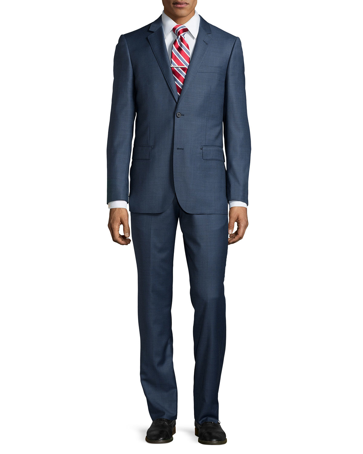 neiman modern fit two suit in blue for lyst