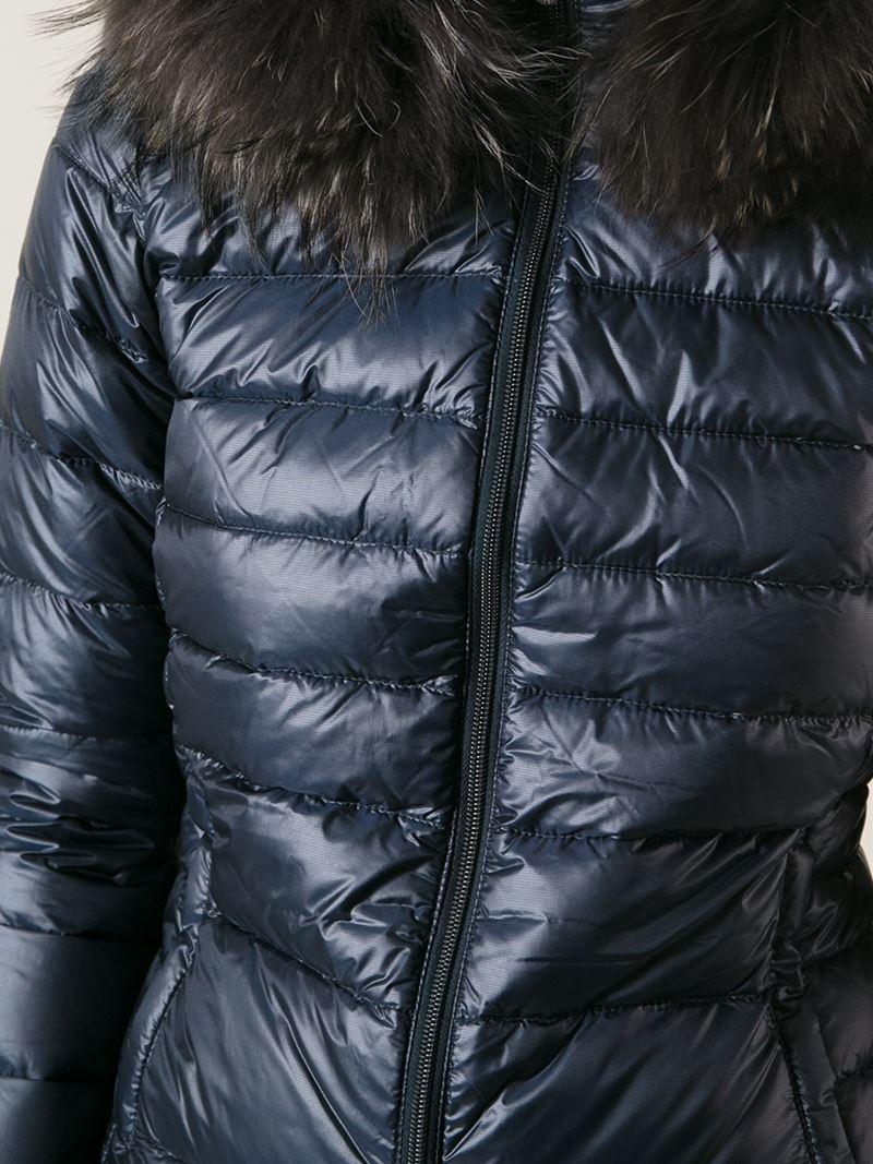 premium selection 62f8e 49437 Duvetica Blue 'nefele Fox' Padded Jacket