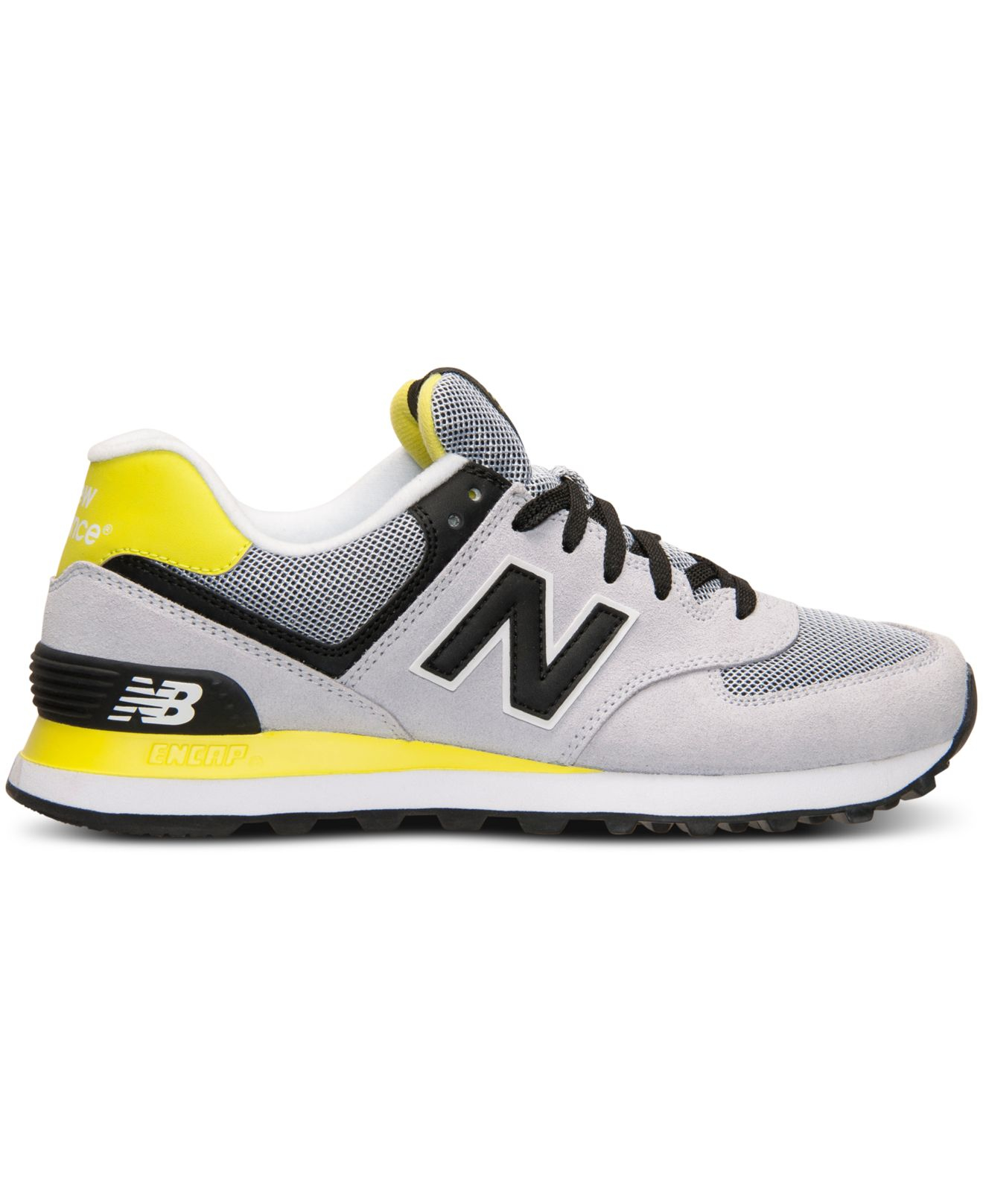 New Balance Black Women's 574 Core Casual Sneakers From Finish Line