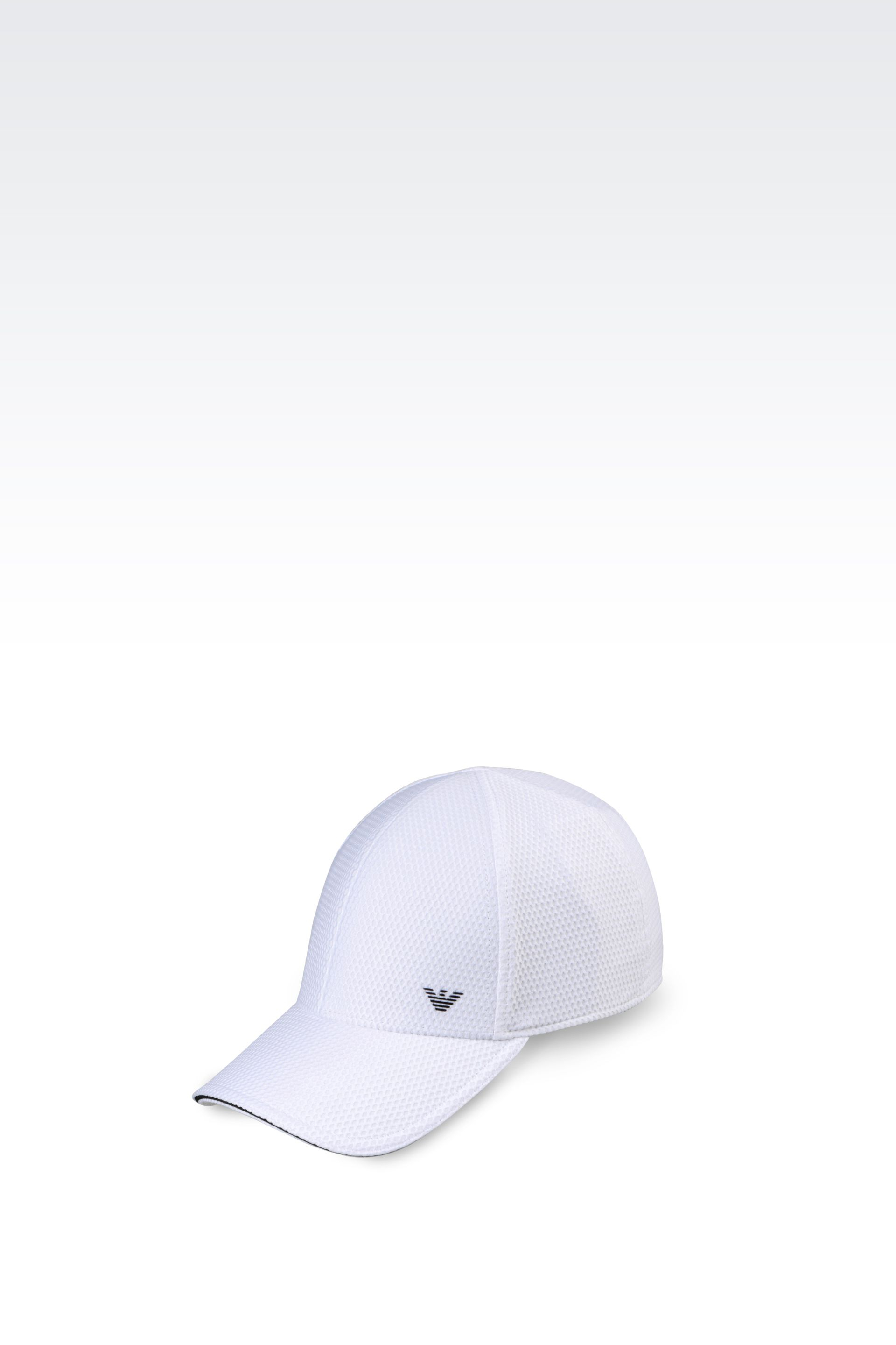 Lyst - Emporio Armani Baseball Cap In Technical Fabric in White for Men 663ab1d6ca6