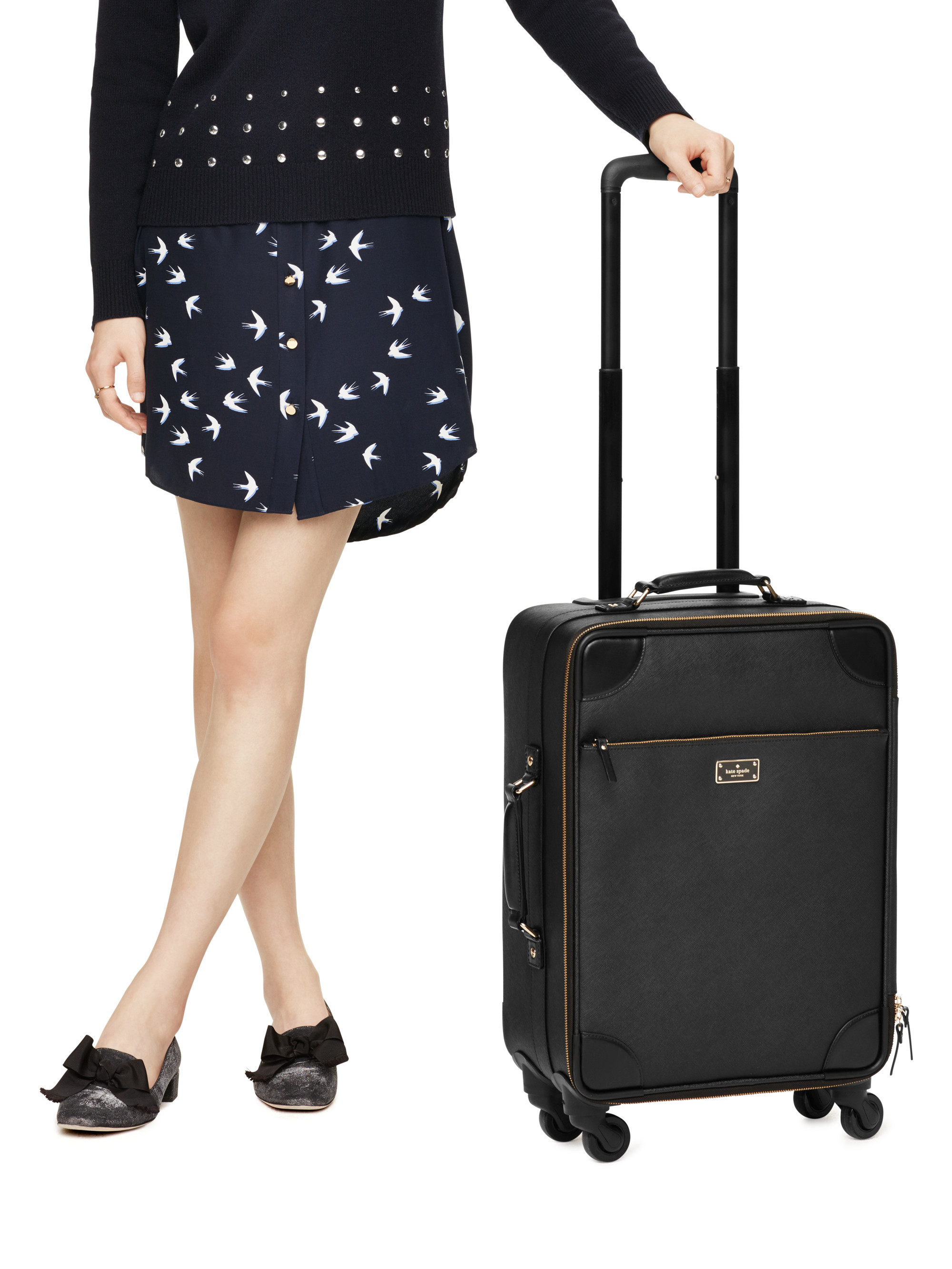 Bon Voyage Leather International Carry On