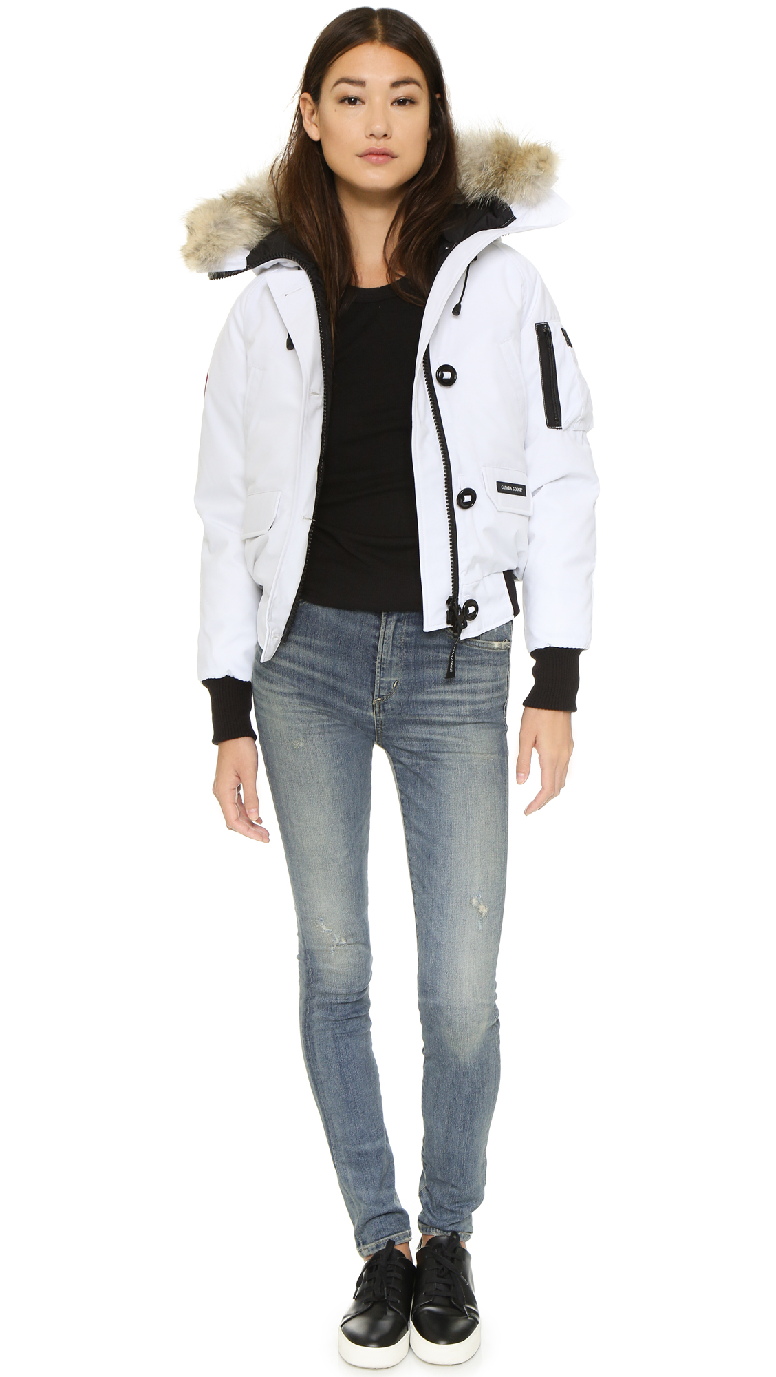 Canada Goose mens sale official - Canada goose Chilliwack Bomber Jacket in White | Lyst