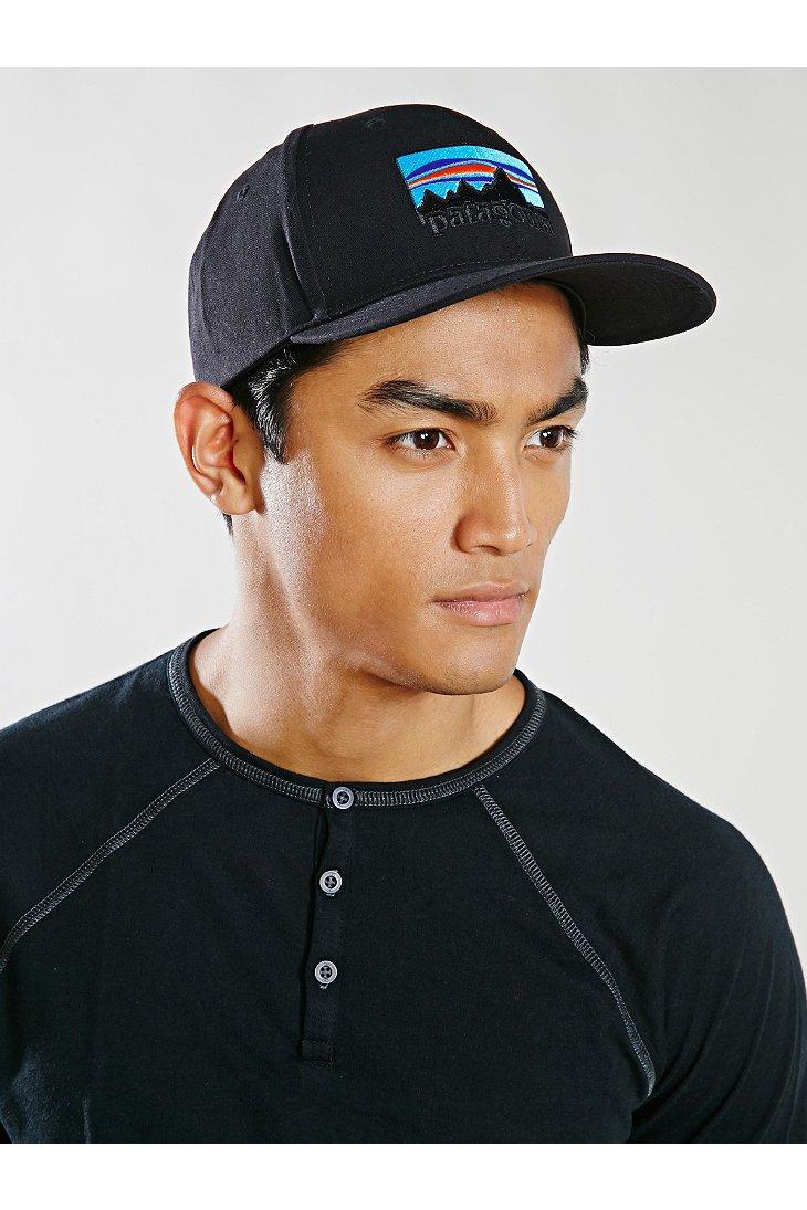 Lyst Patagonia 73 Logo Roger That Hat In Black For Men