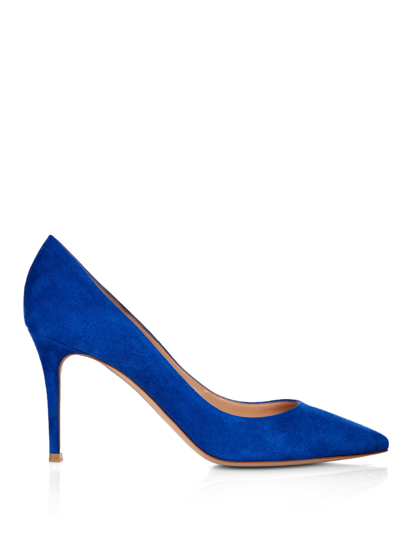 Gianvito Rossi Business Suede Pumps in