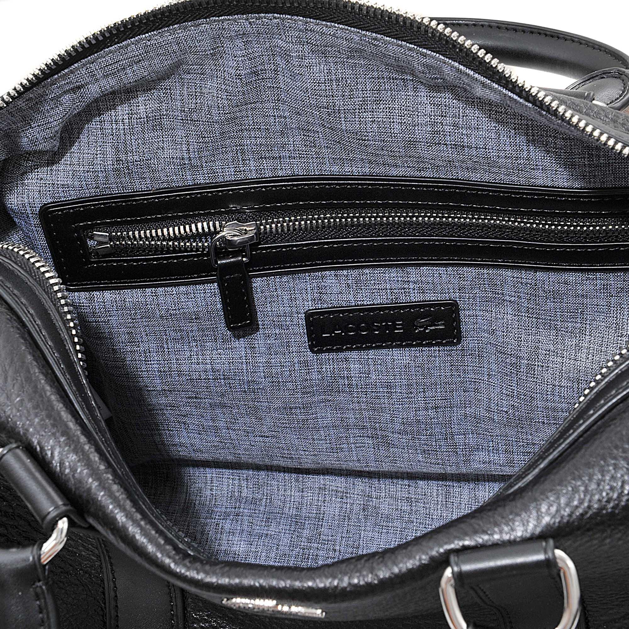 5ef1766b5be6e Lyst - Lacoste Renée Medium Boston Bag in Black