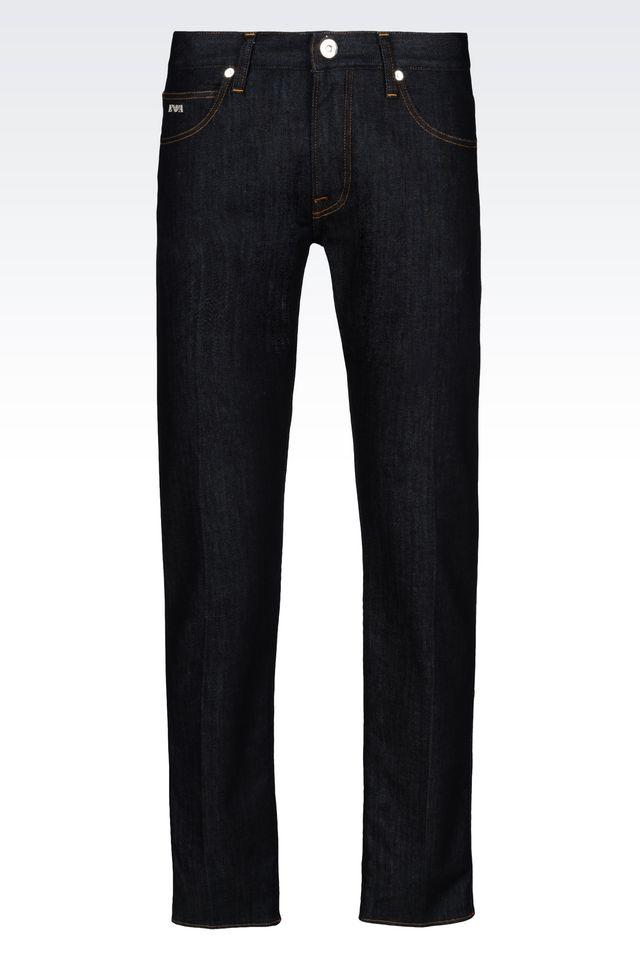 Emporio armani Jeans in Blue for Men | Lyst