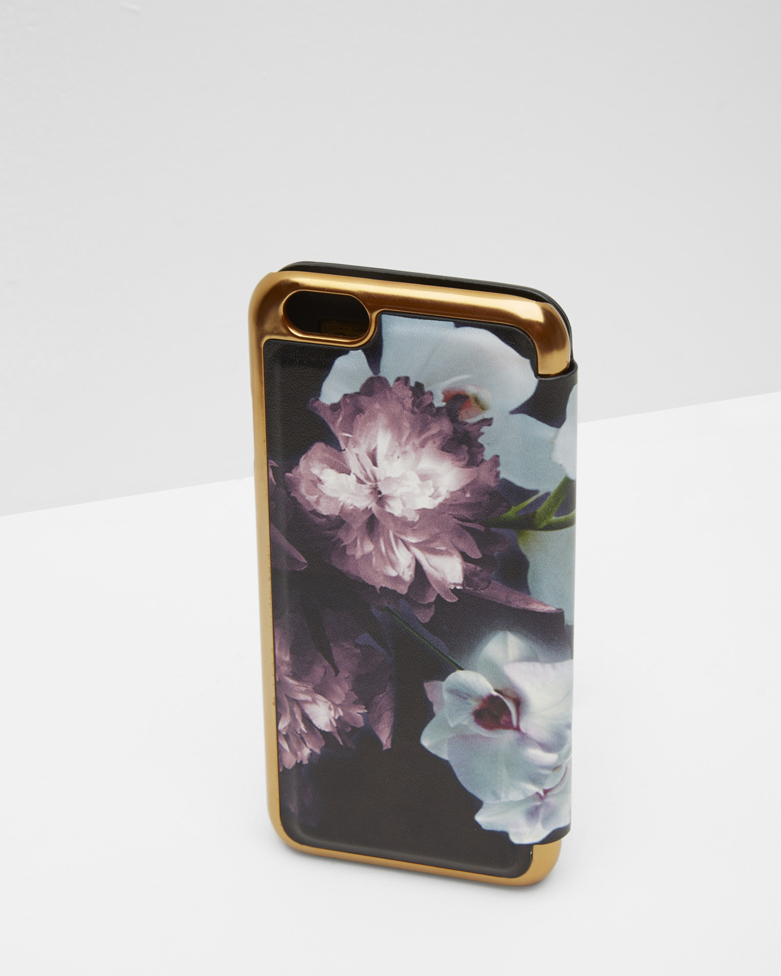 03c14380 Ted Baker Ethereal Posie Iphone 6 Case in Black - Lyst