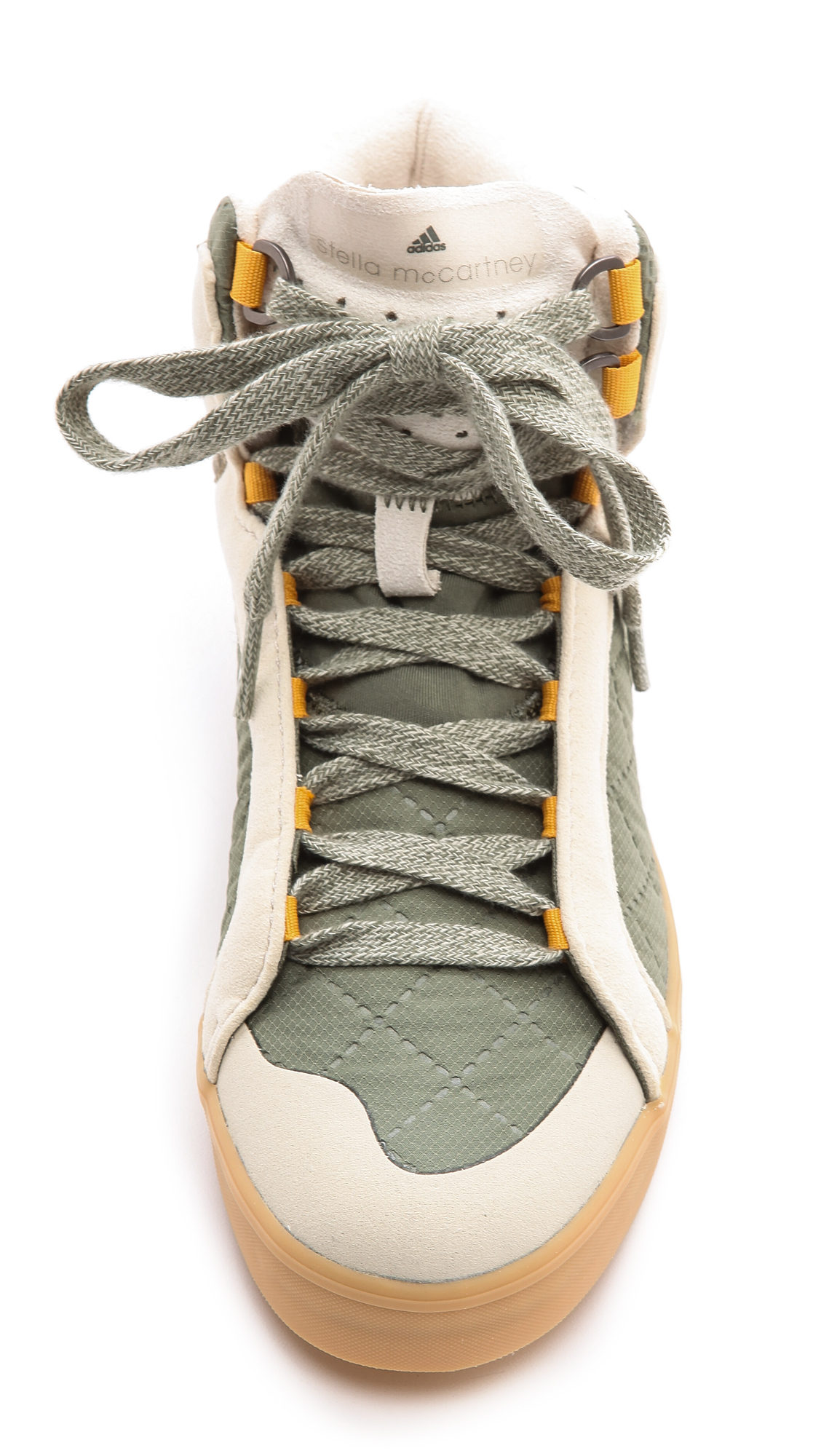 2ca906cc5f7 Lyst - adidas By Stella McCartney Discosura Hiker Sneakers Loamantique  Whiteraven in Green