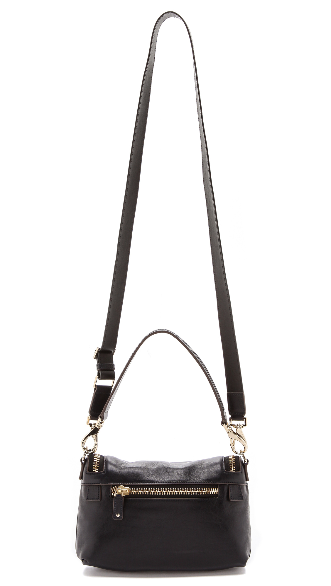 Anya Hindmarch Maxi Zip Cross Body Bag in Navy (Blue)