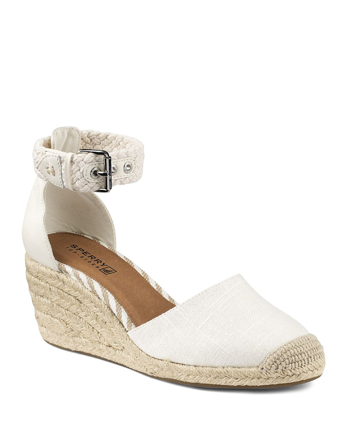 1e2202aef Sperry Top-Sider Espadrille Wedge Sandals - Valencia Closed Toe in ...