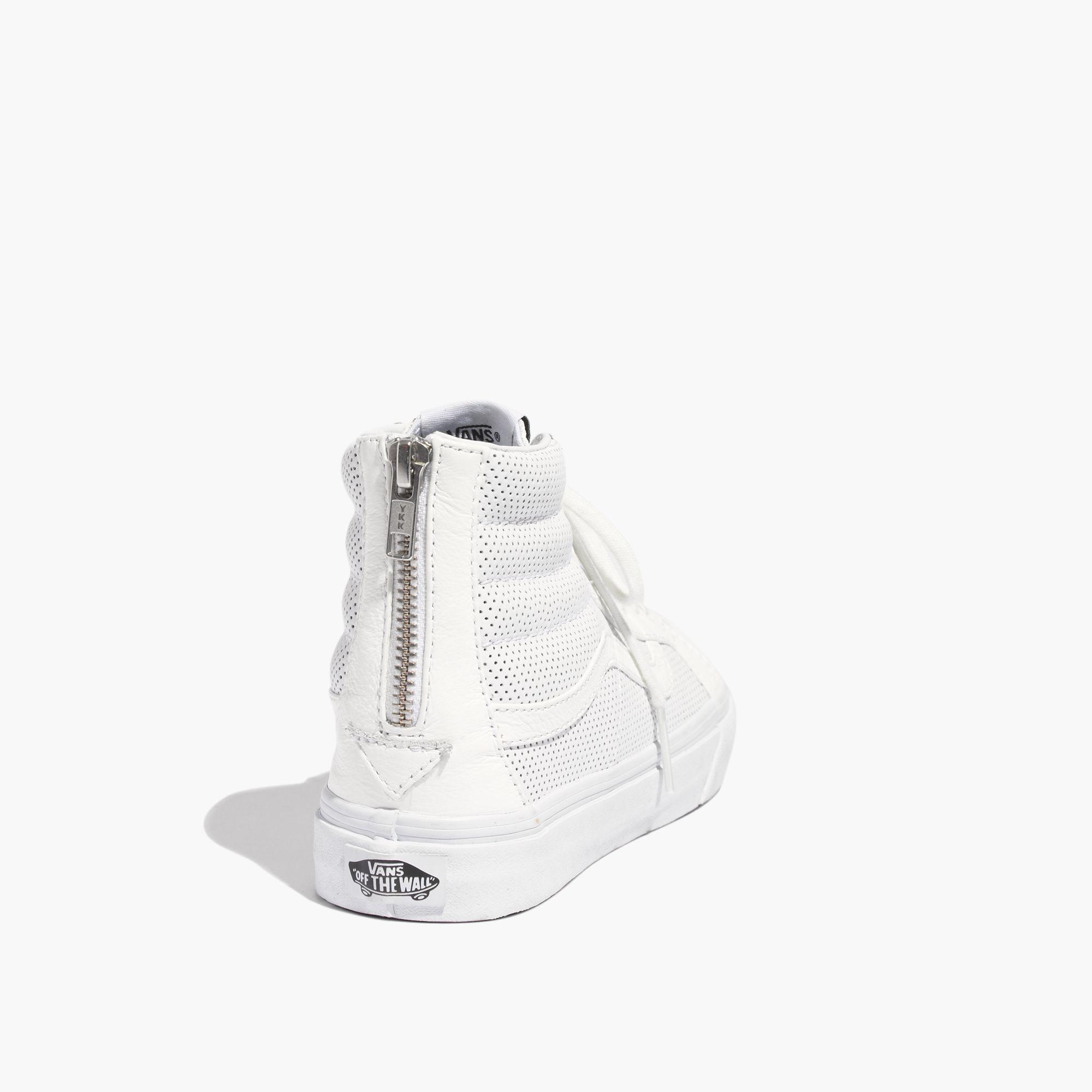59baac8d80 Lyst - Madewell Vans® Sk8-Hi Slim Zip High-Top Sneakers In ...