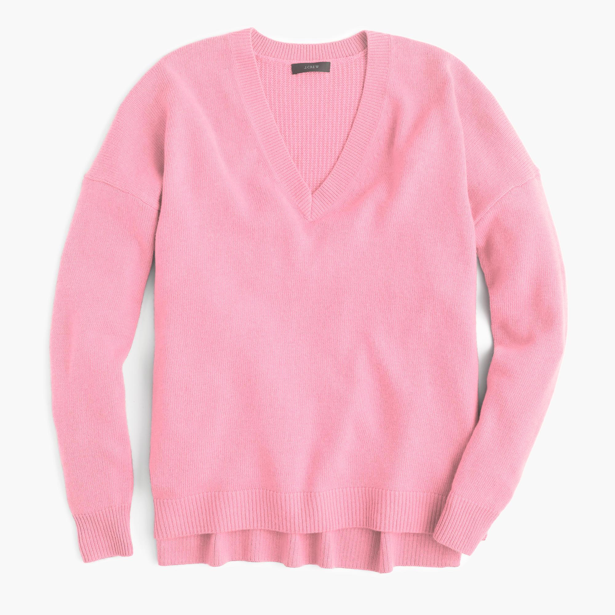 V Neck Tunic Sweater 67