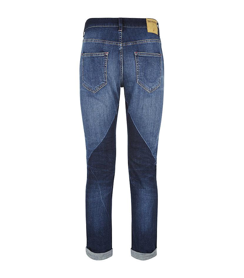 True religion Grace Slim Boyfriend Jeans in Blue | Lyst