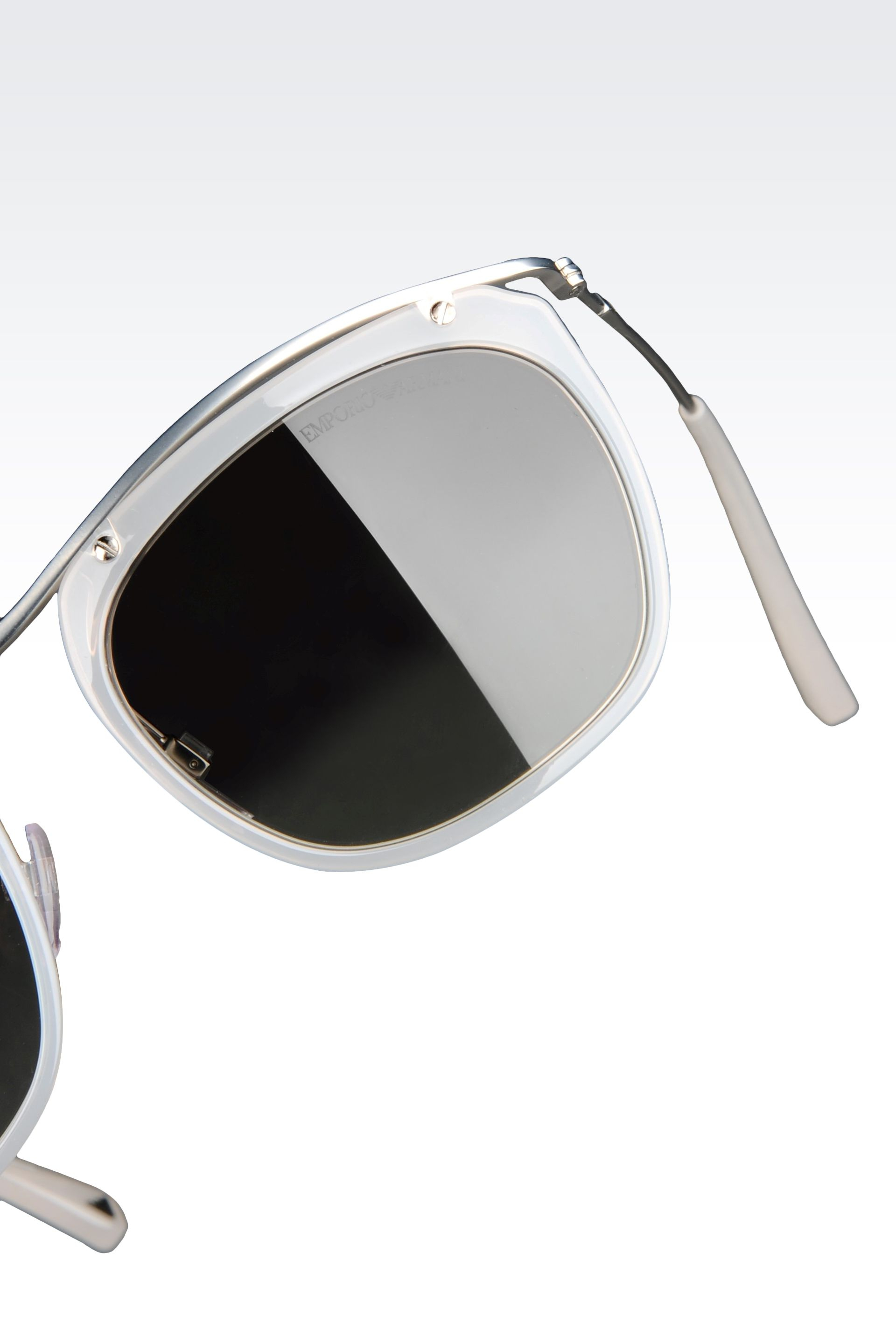 ccd12d28989b Lyst - Emporio Armani Water Lilies Sunglasses in Gray