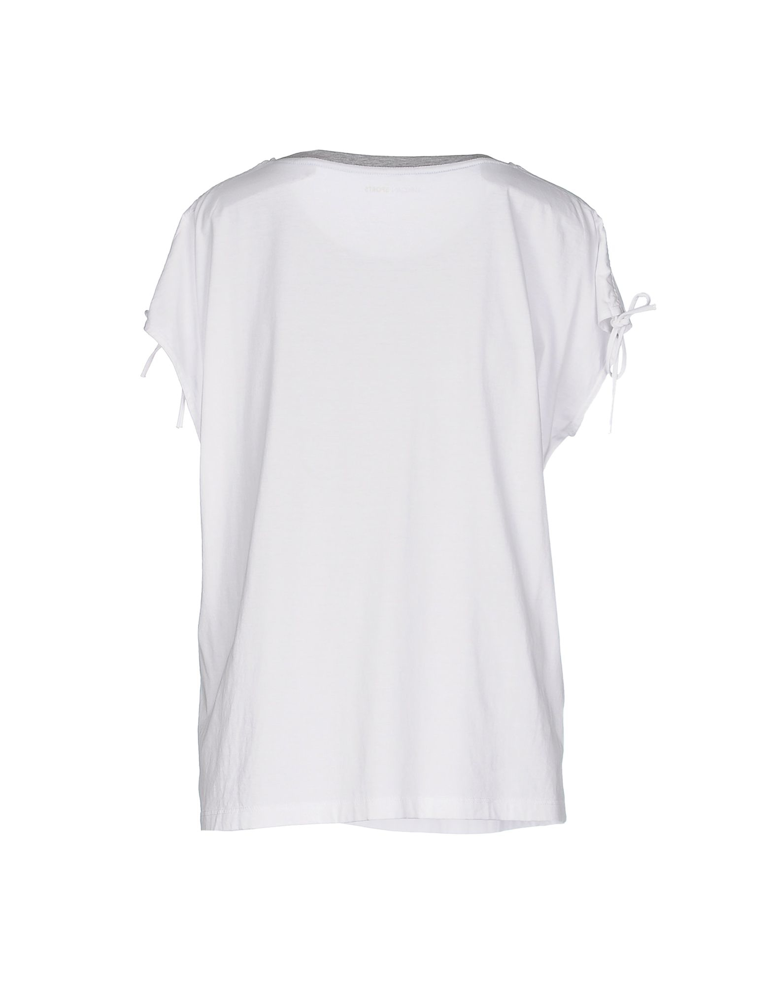 marc cain t shirt in white lyst. Black Bedroom Furniture Sets. Home Design Ideas