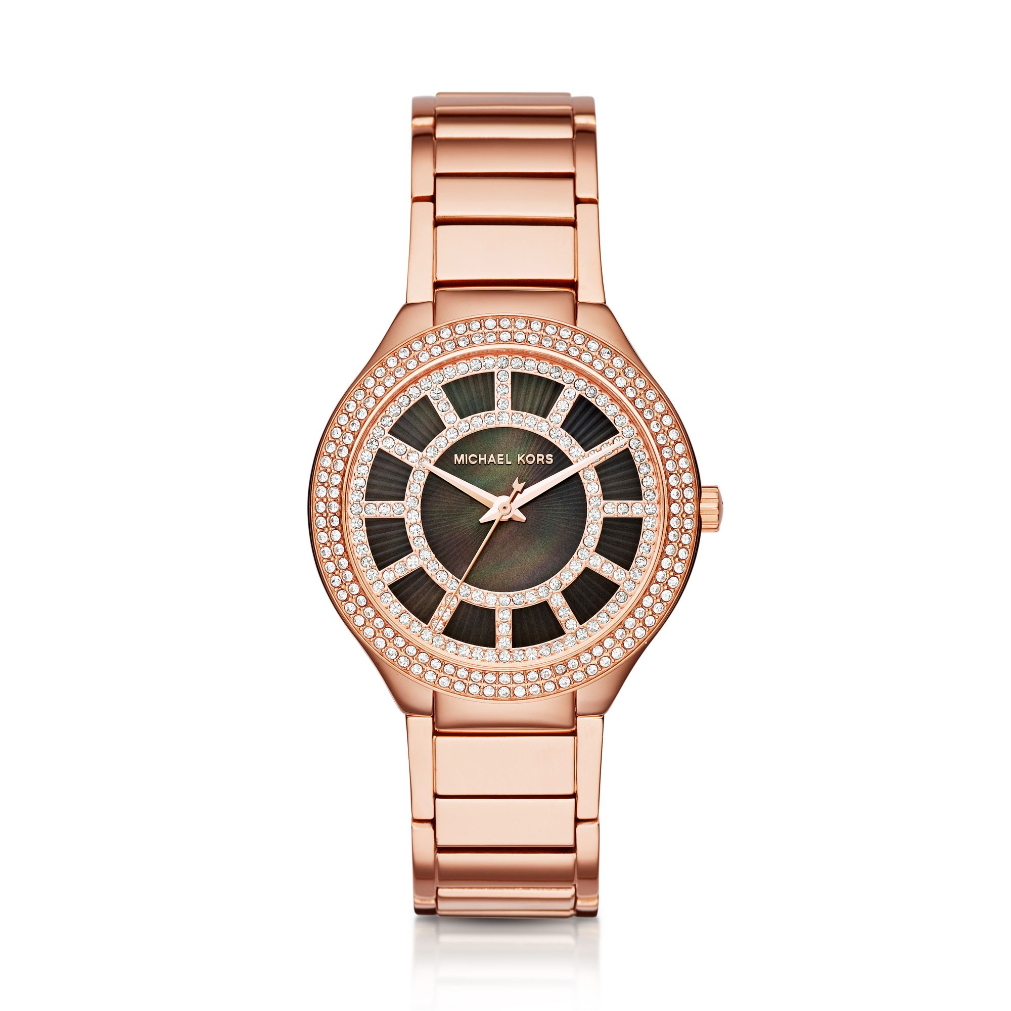 Lyst - Michael Kors Kerry Rose Gold-tone Watch in Pink