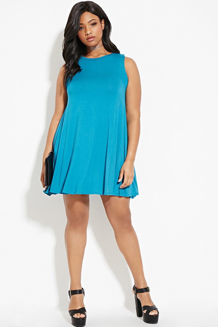 Plus Size Trapeze Dress You\'ve Been Added To The Waitlist