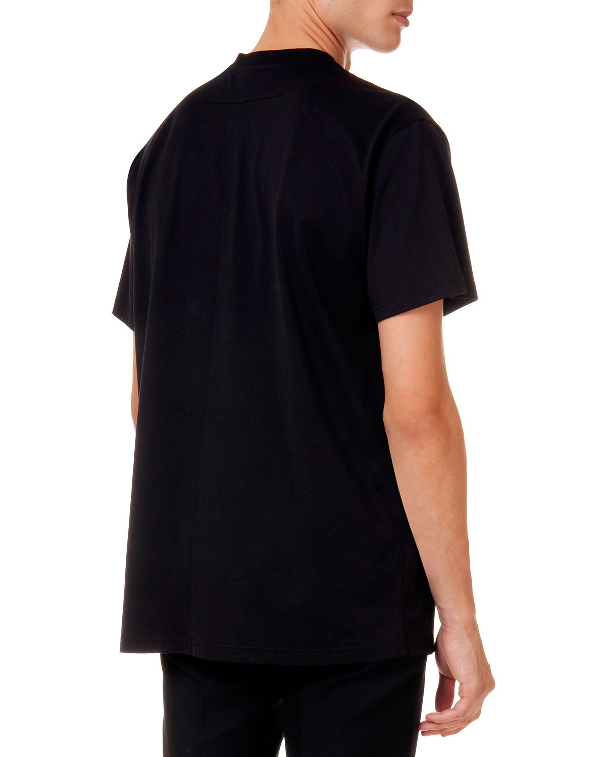 givenchy short sleeve tee with 17 floral crown graphic in black for men floral lyst. Black Bedroom Furniture Sets. Home Design Ideas