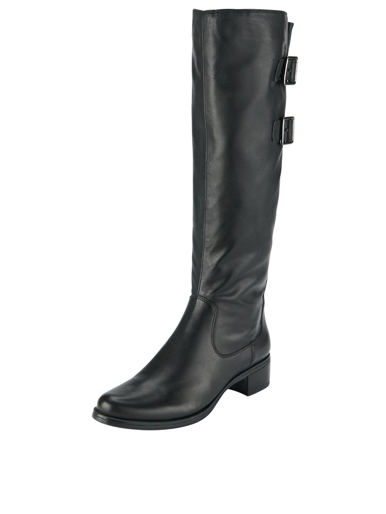 clarks clarks likeable me adjustable knee high boots in