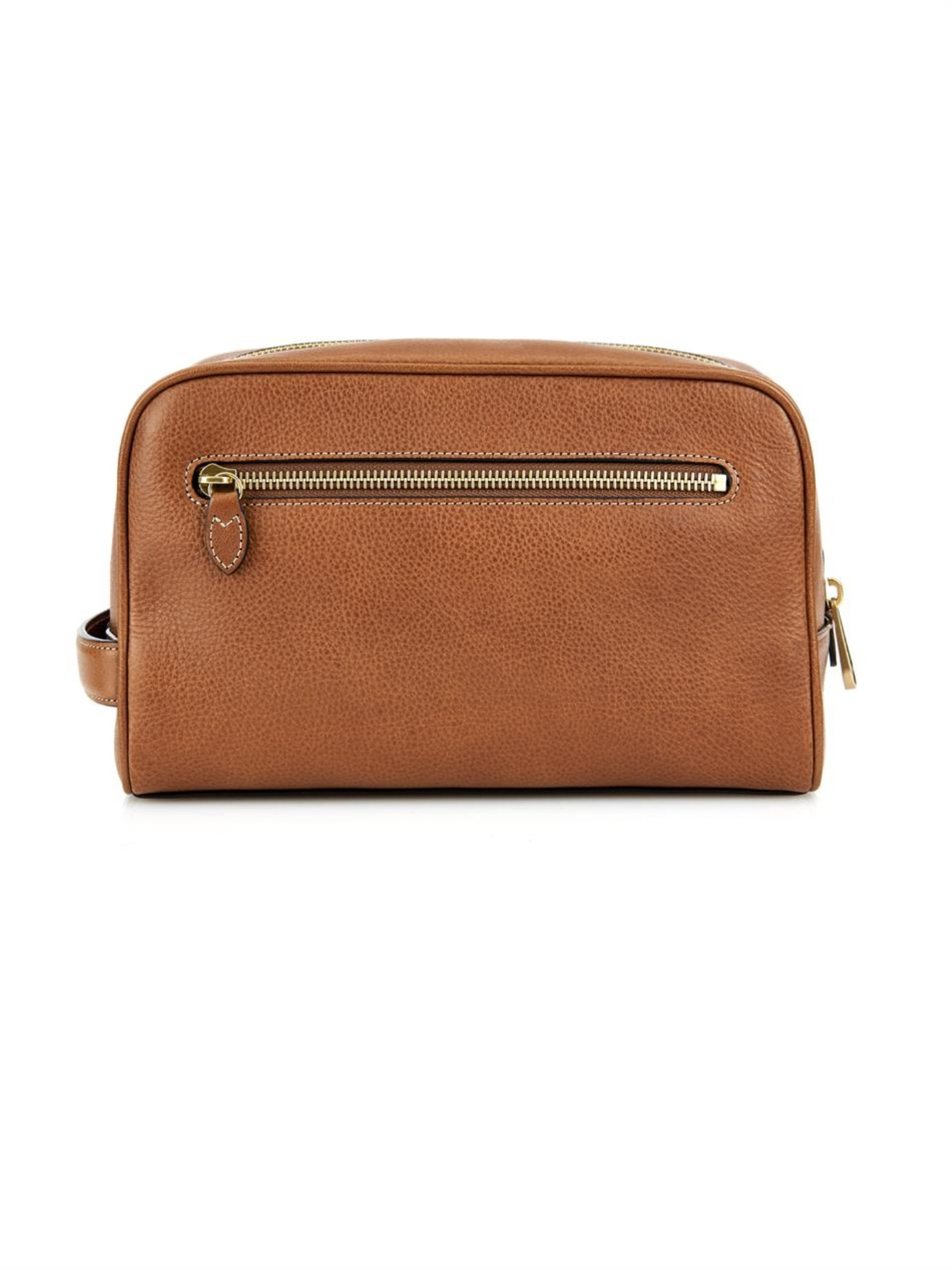 2dcdd545c9d7 ... discount mulberry leather wash bag in brown for men lyst fa30f 5d109