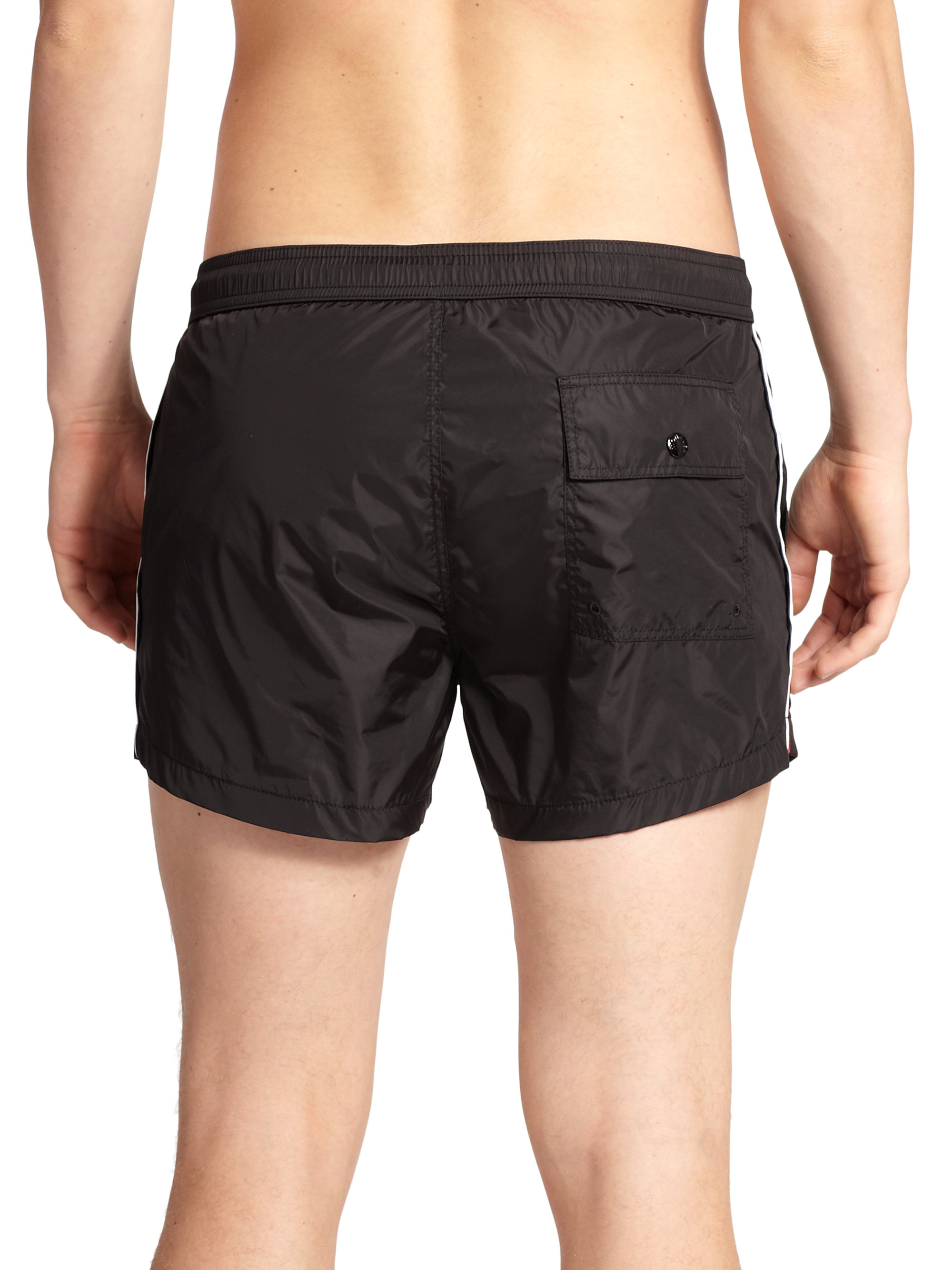 swim shorts - Black Moncler From China Free Shipping Low Price Z9J6mMndEe