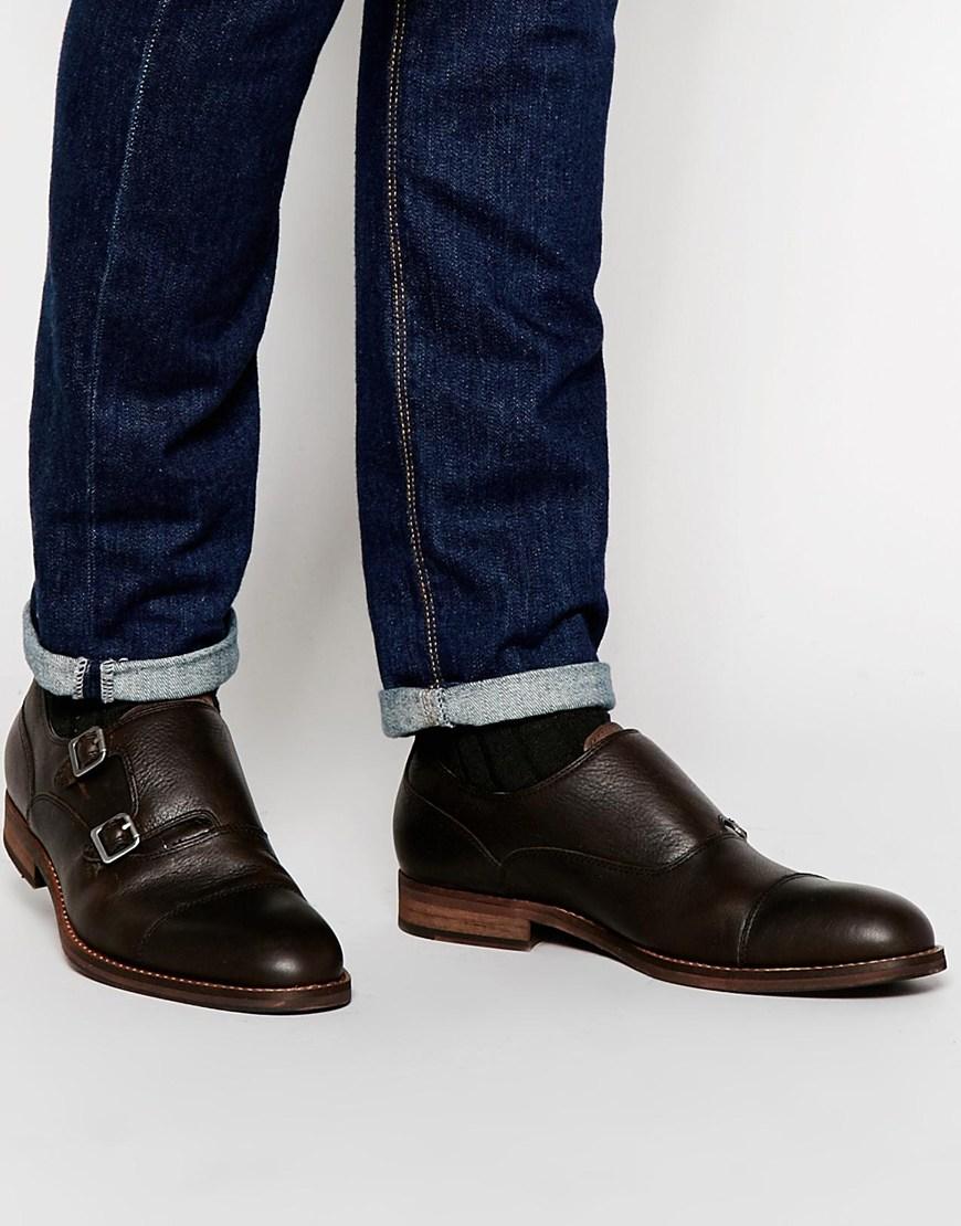 Ales Aldo Chaussures Richelieu Moine En Noir - Noir kGzuJ