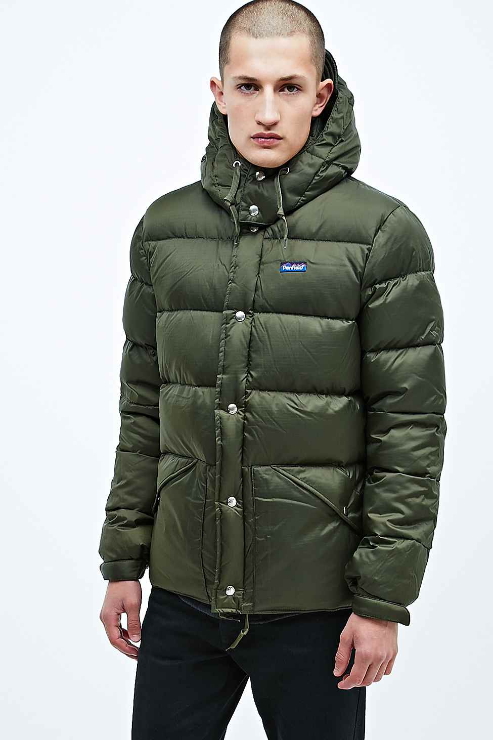 df147c386 Penfield Bowerbridge Down Jacket in Olive Green for men