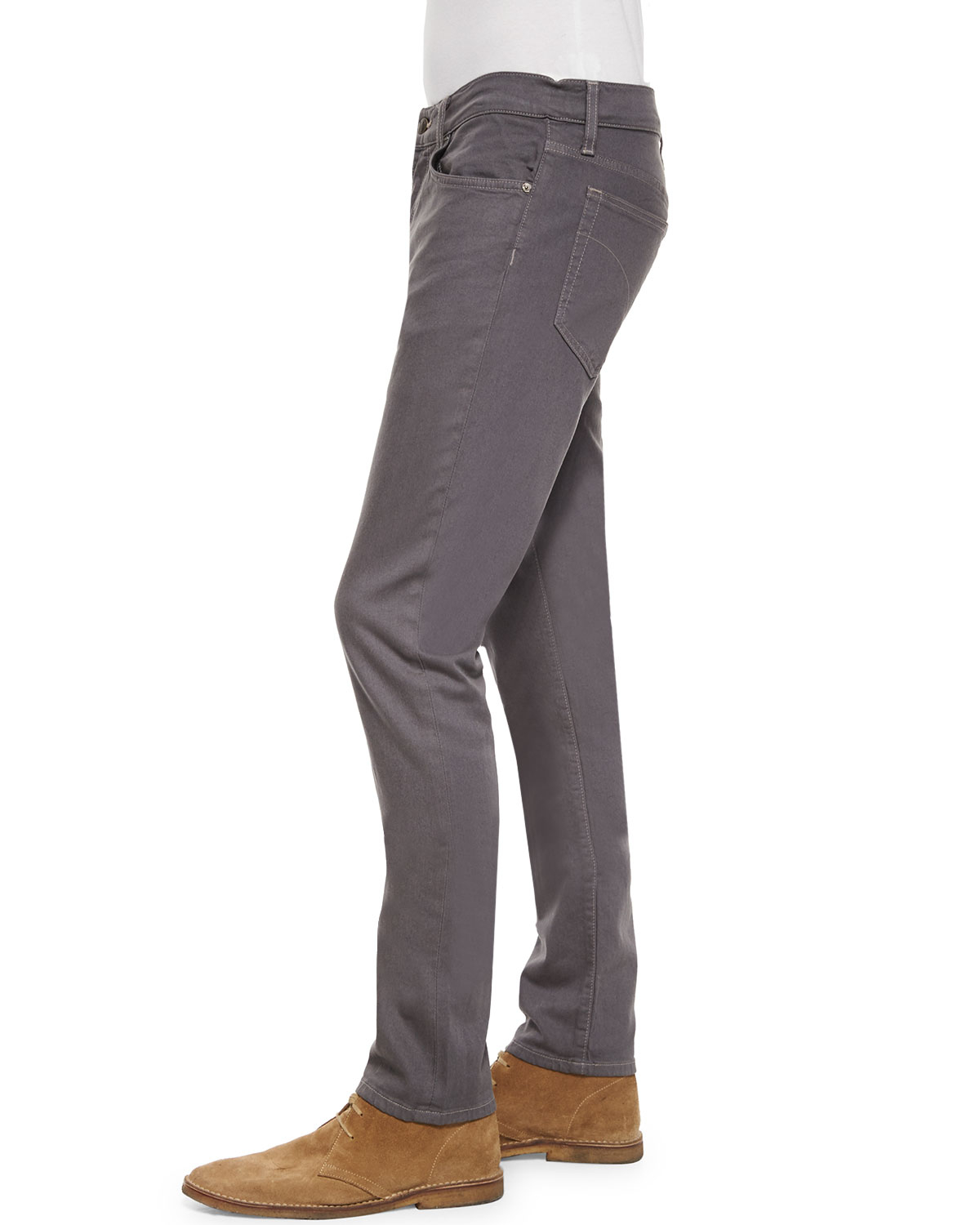 Lyst - Joe s Jeans Brixton Straight-narrow Twill Jeans in Gray for Men a0c3cf6e1f4