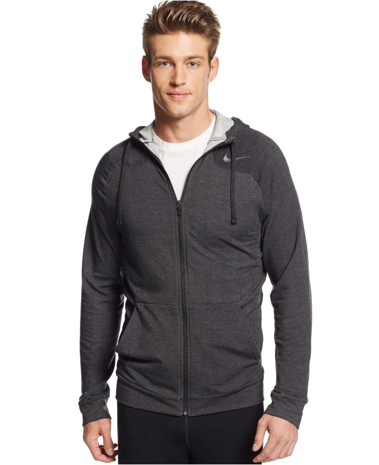 a411d2e5f59e Lyst - Nike Men s Touch Full-zip Dri-fit Hoodie in Black for Men