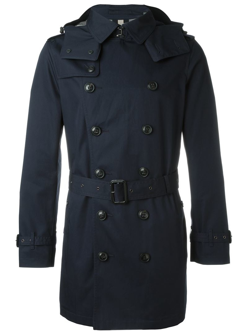 black trench coat with hood - photo #29