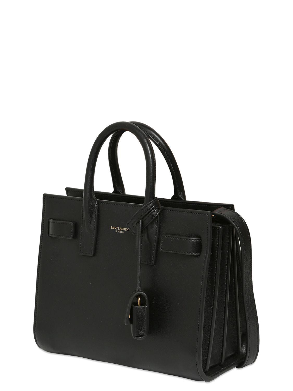 Classic Nano Sac De Jour Bag In Fog Leather